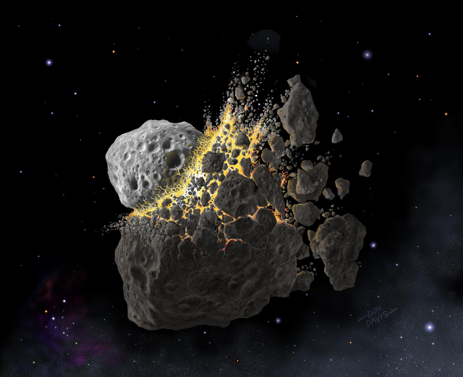 most asteroids round - photo #29