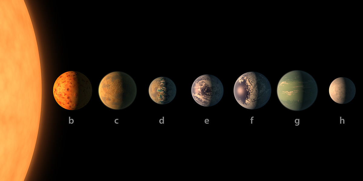 TRAPPIST-1's seventh planet is a chilly world