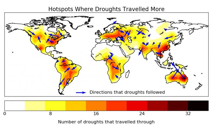 Traveling\' droughts bring new possibilities for prediction