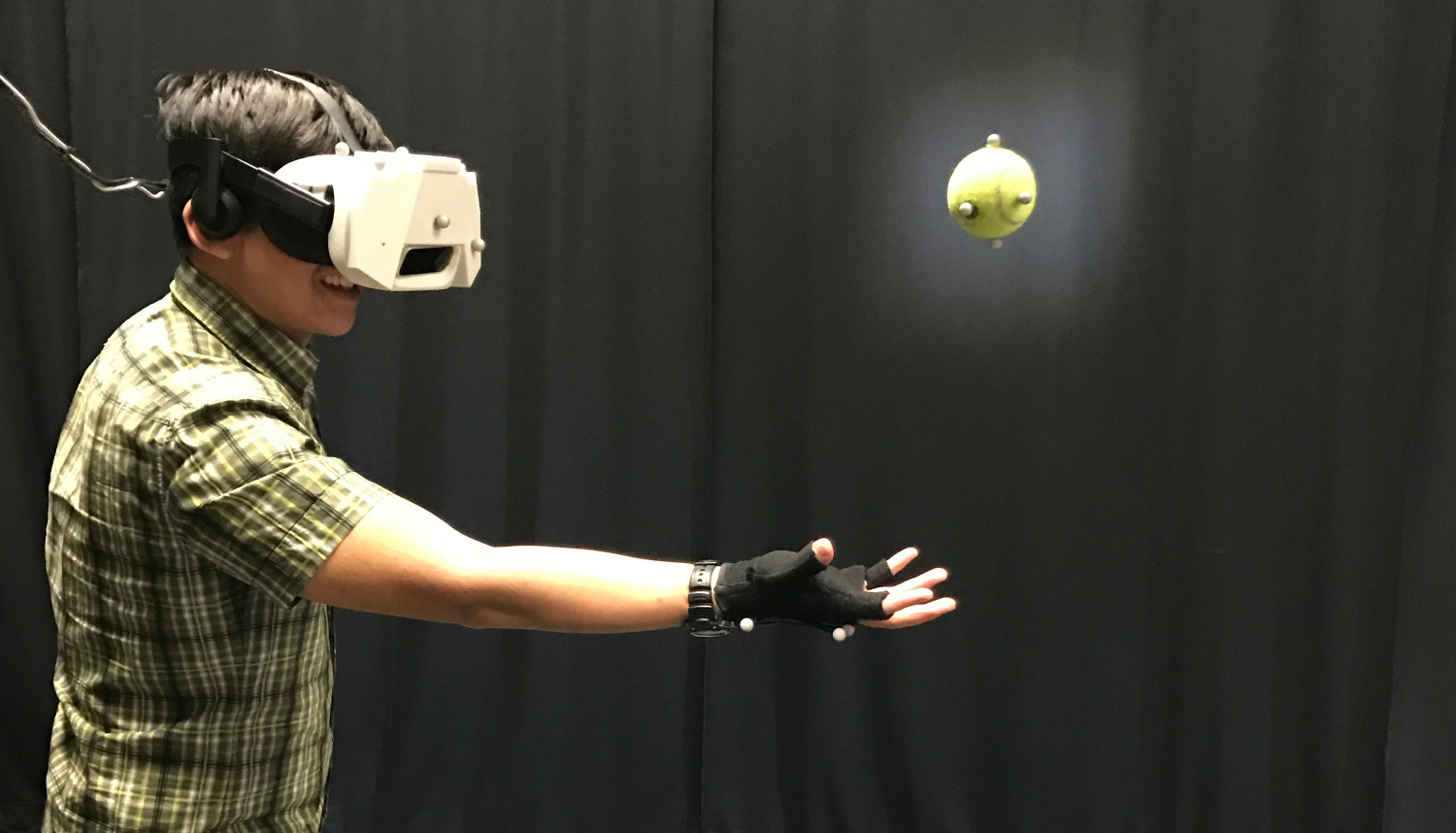 Disney software allows users to catch real balls in VR