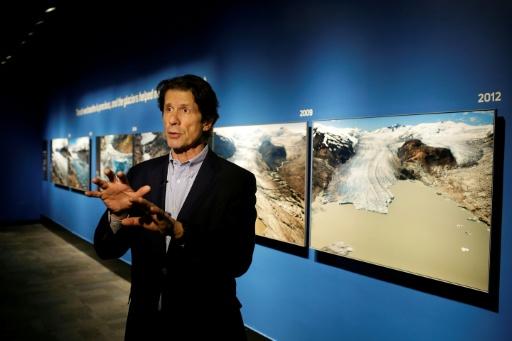 Photographer captures world's glacier melt over decade
