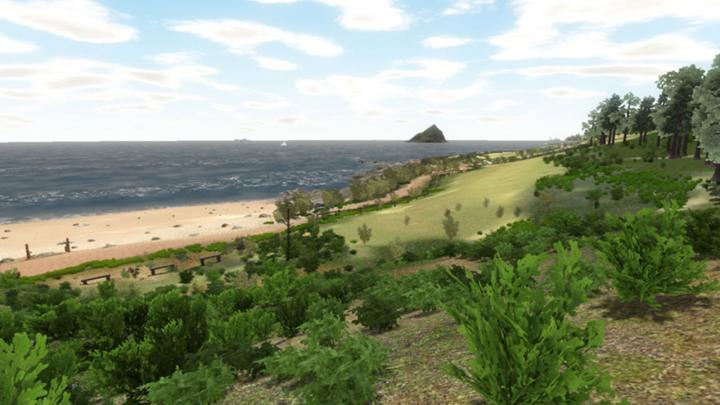 Visiting Virtual Beach Improves Patient Experiences During