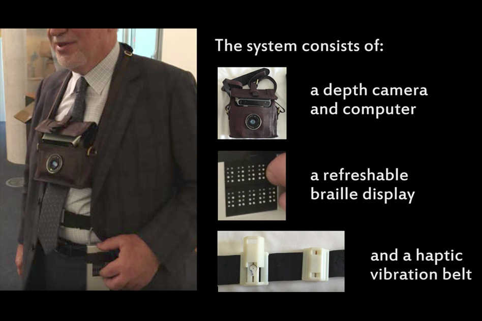 Wearable system helps visually impaired users navigate