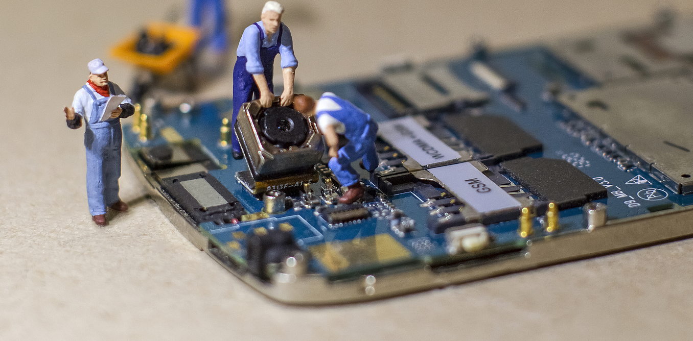 Why Cant We Fix Our Own Electronic Devices Microcontroller Based Eye Controlled Security System
