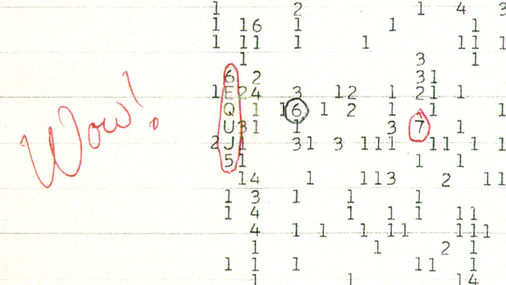 Wow Mystery Signal From Space Finally Explained