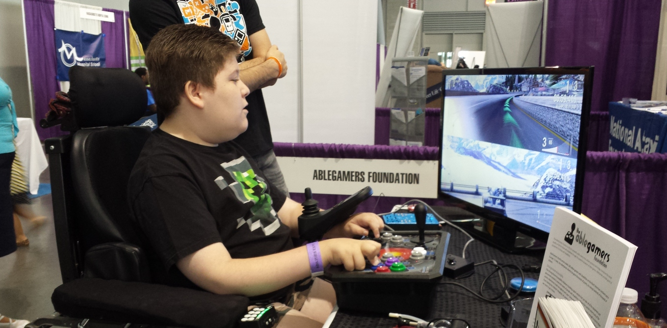 young gamers are inventing their own controllers to get around their