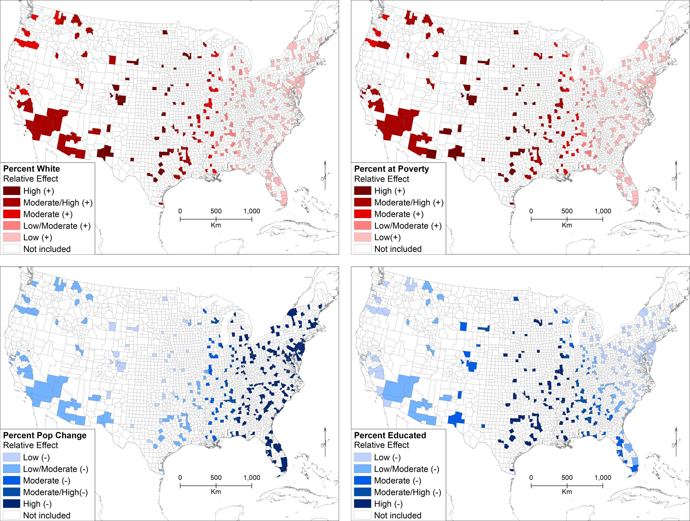 Drivers of hate in the U.S. have distinct regional differences