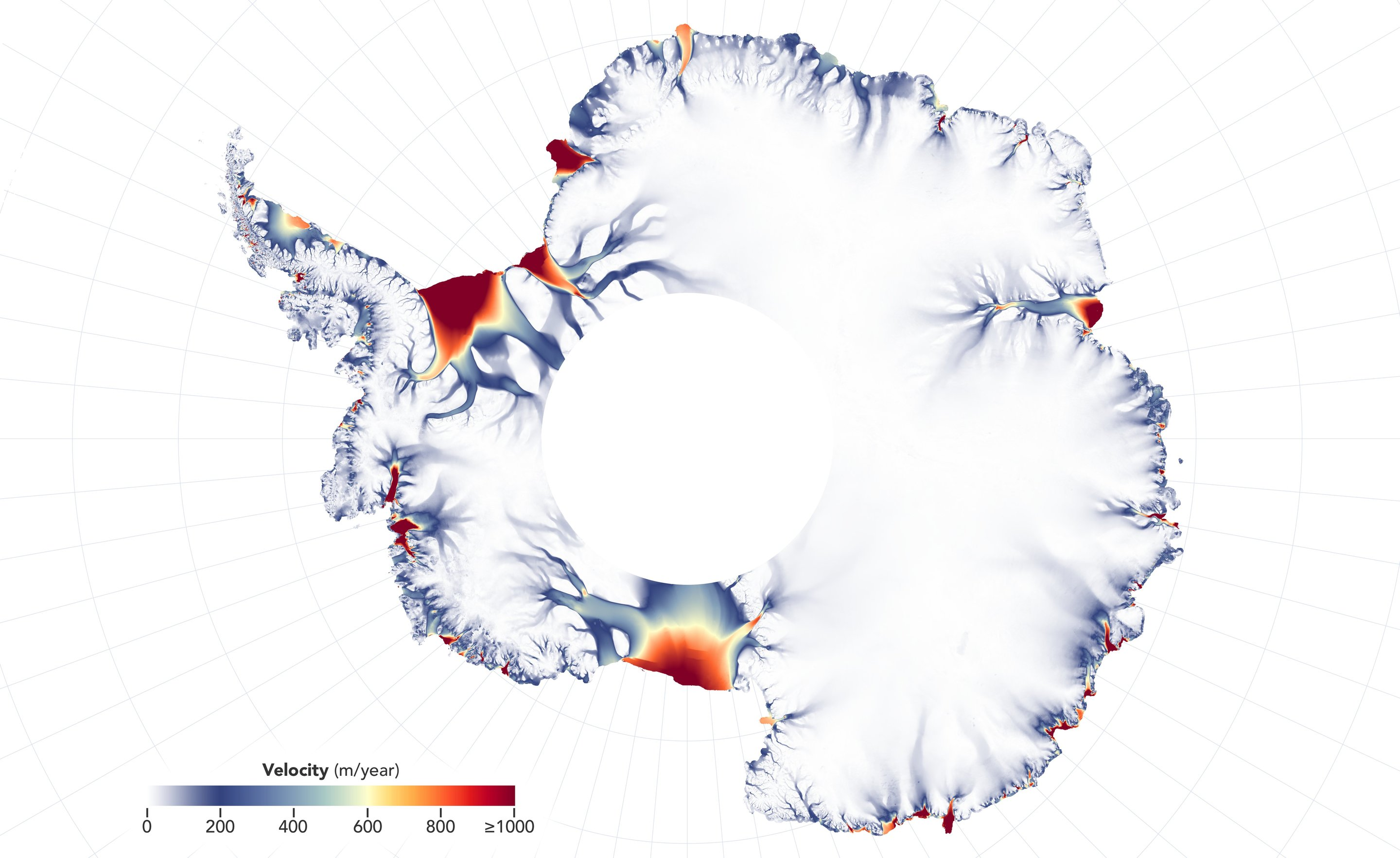 More glaciers in East Antarctica are waking up