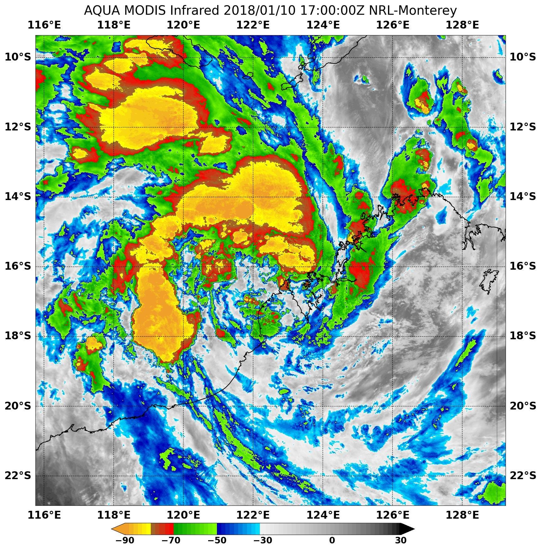 NASA sees Tropical Cyclone 5 form near northwestern Australia\'s ...