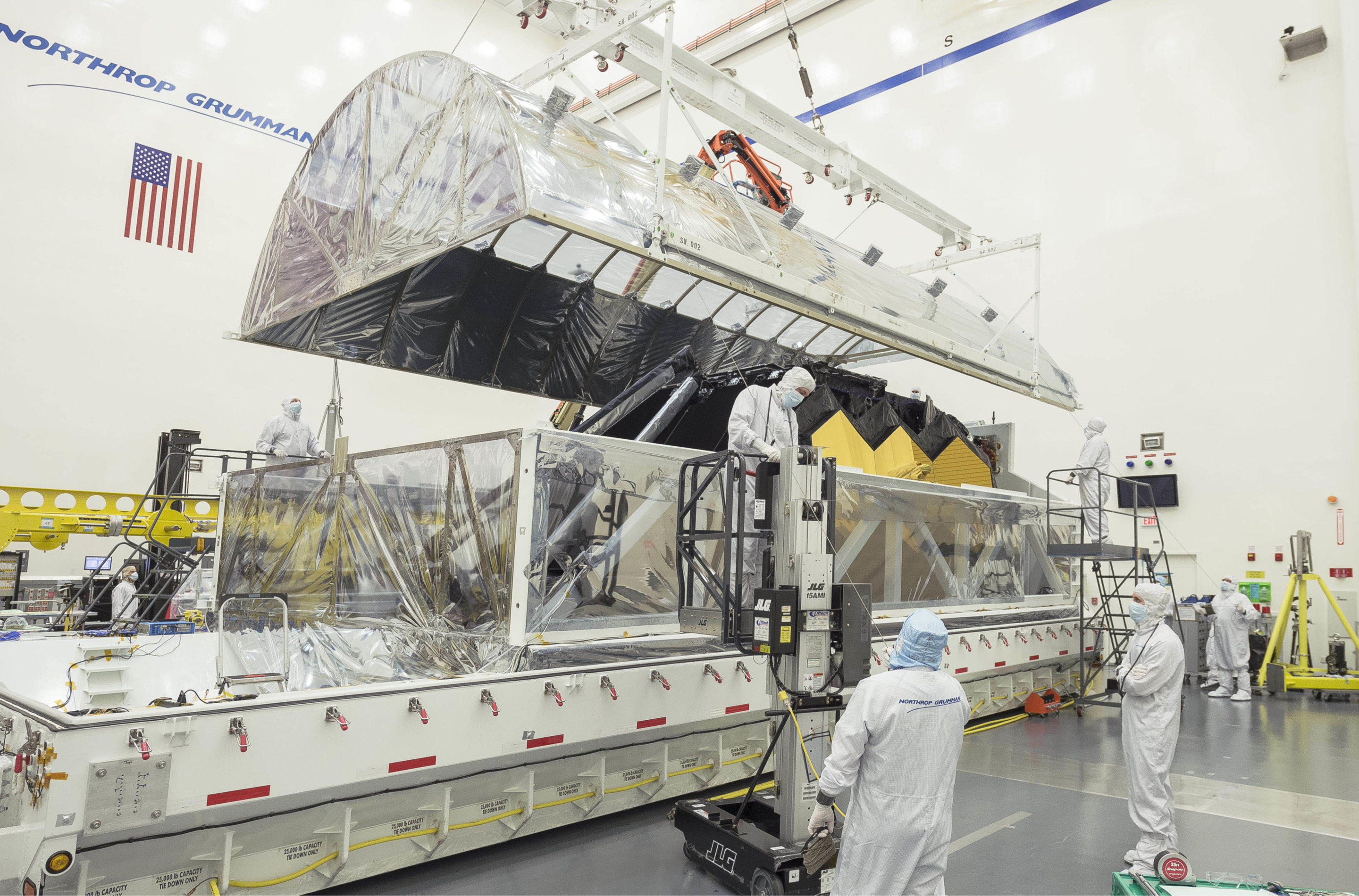 James Webb Observatory Prepares For Additional Testing Fuel Filters Nasas