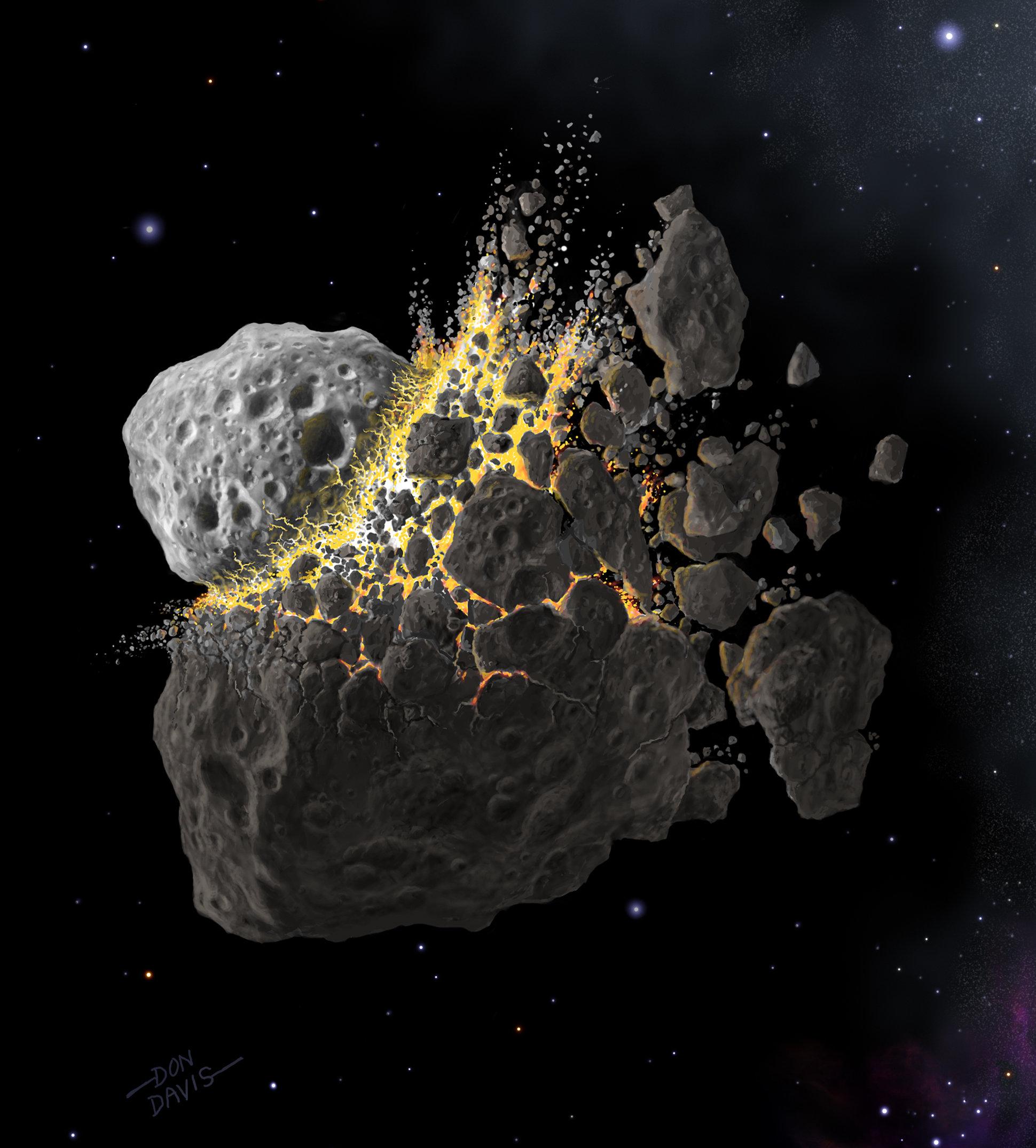 nasa comet collision - HD1440×1173