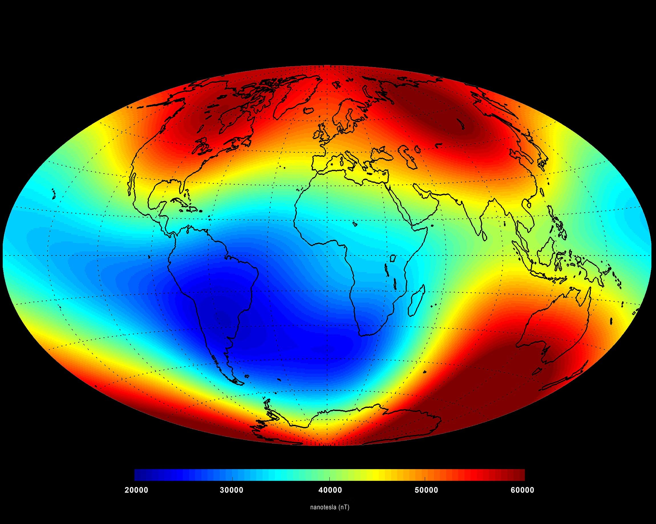 Earth's magnetic poles could start to flip. What happens then?