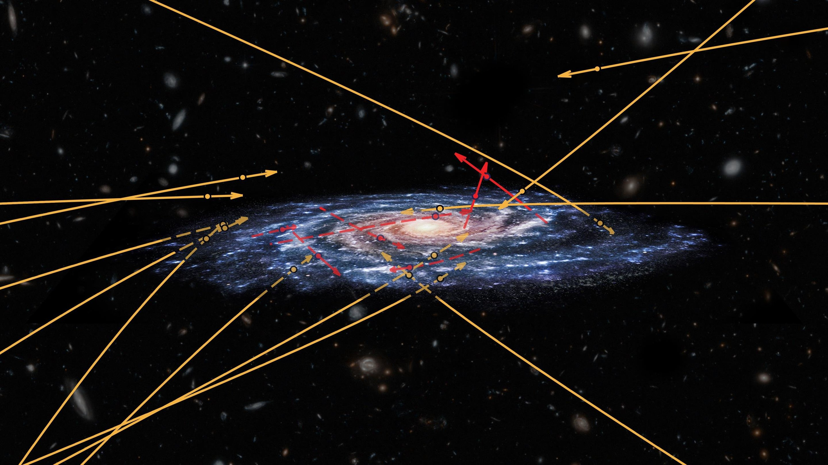 The new three-dimensional map of the Milky Way shows two billion stars