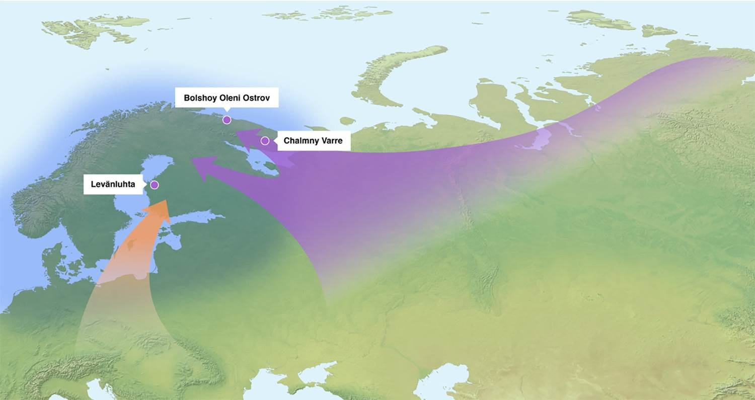 Ancient DNA shows the Sámi and Finns share identical Siberian genes
