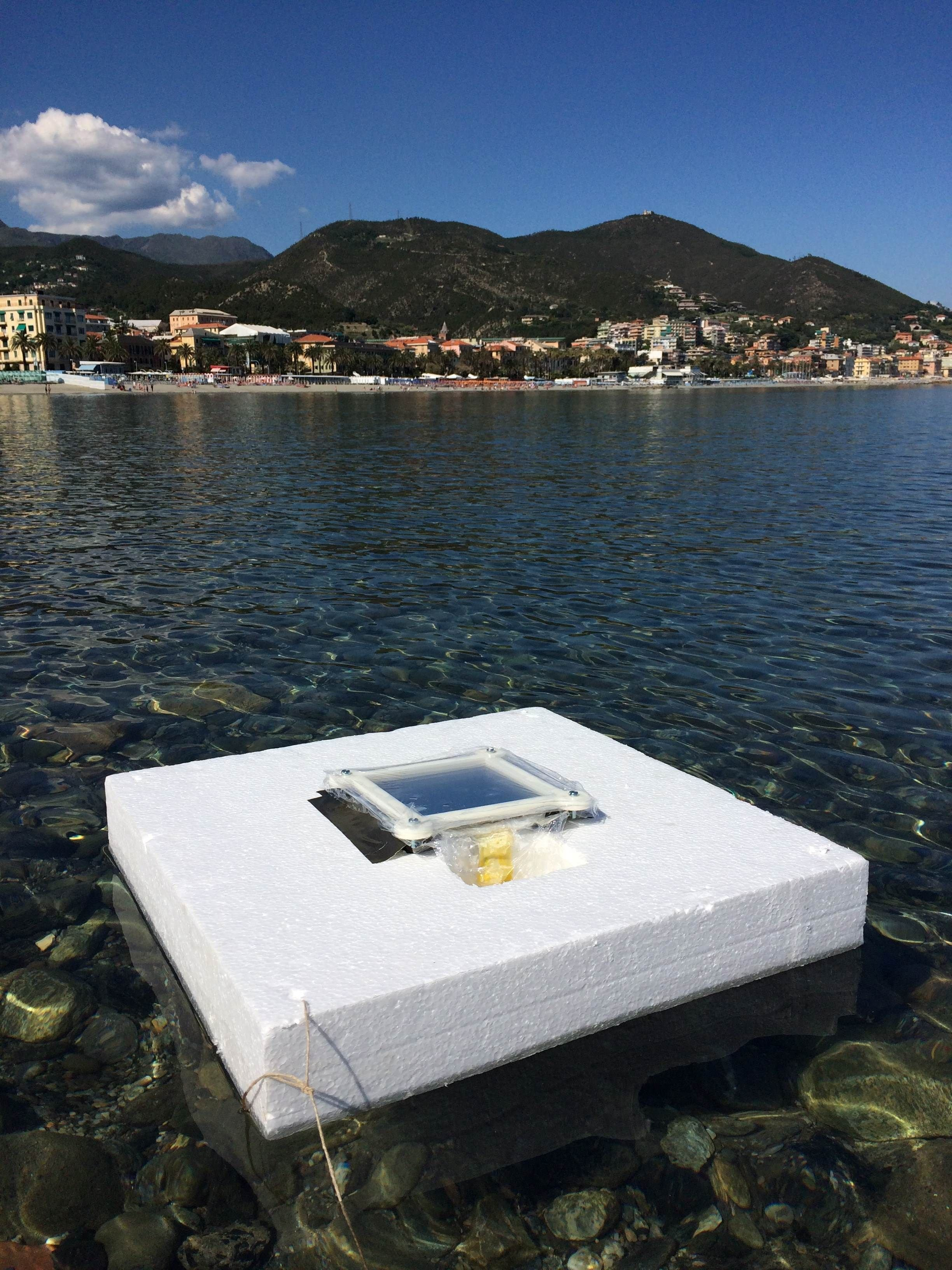 Seawater to freshwater through solar energy: A new low-cost technology