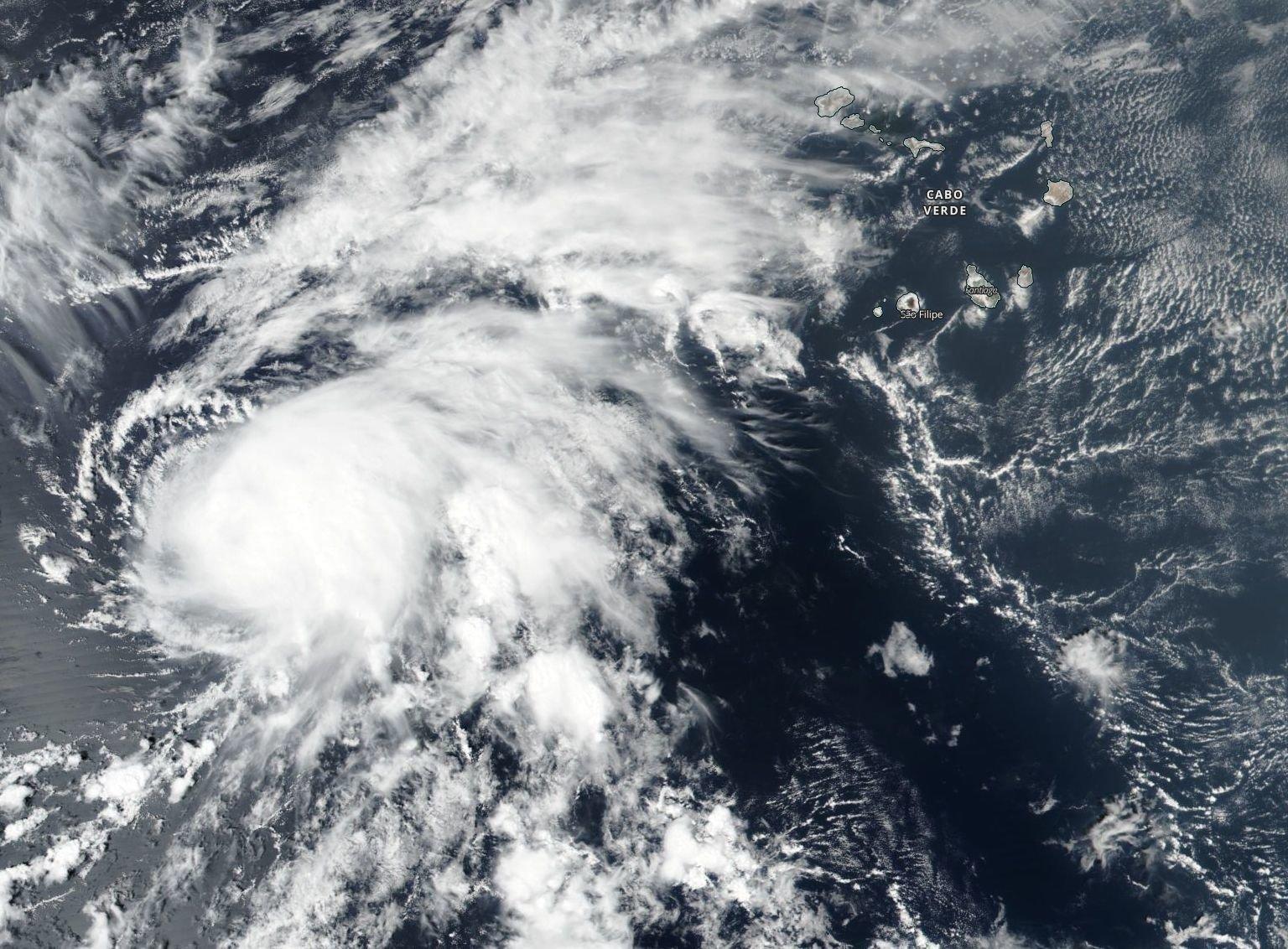 nasa finds wind shear weakening tropical storm nadine