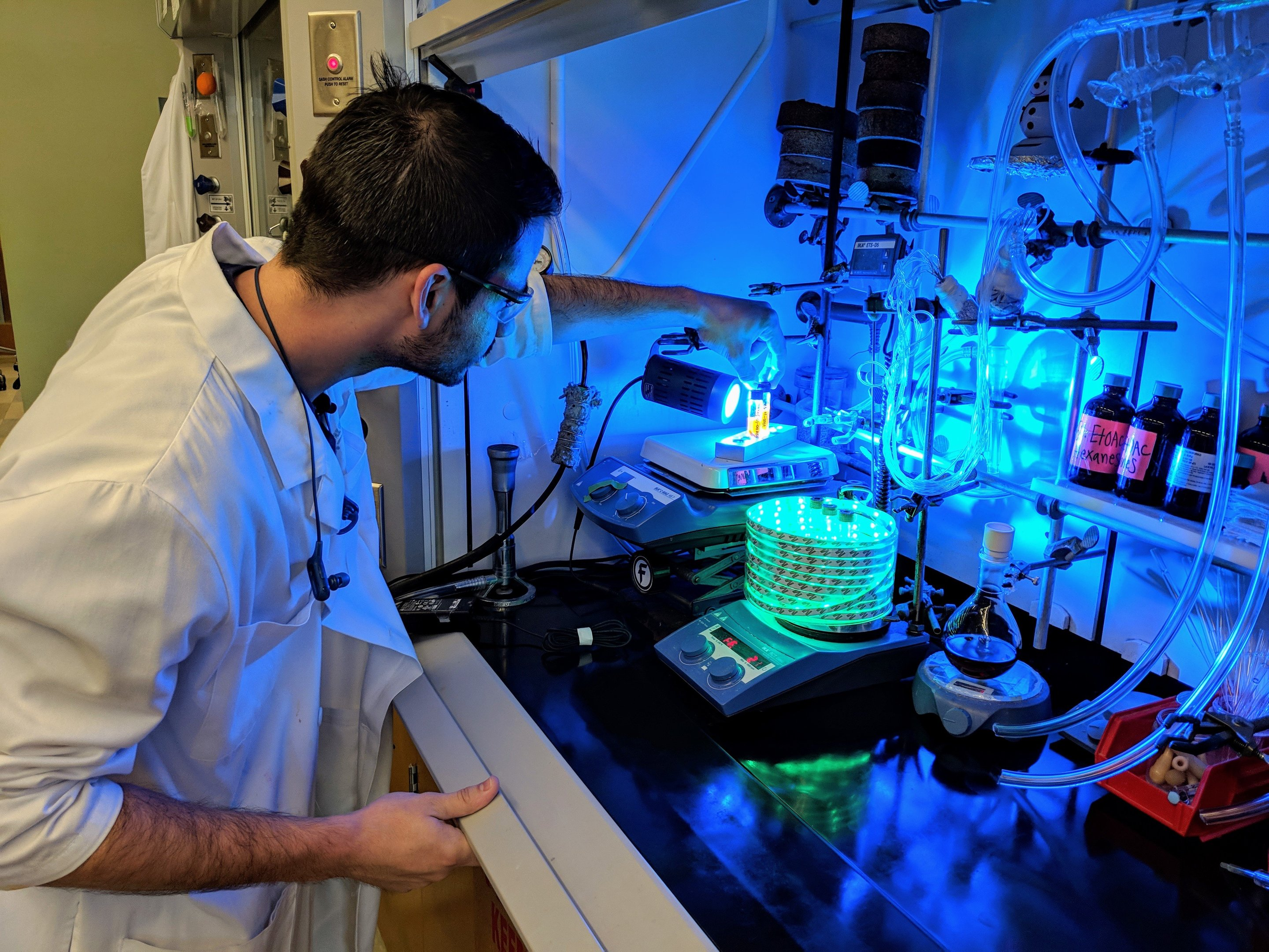 a new way to create molecules for drug development