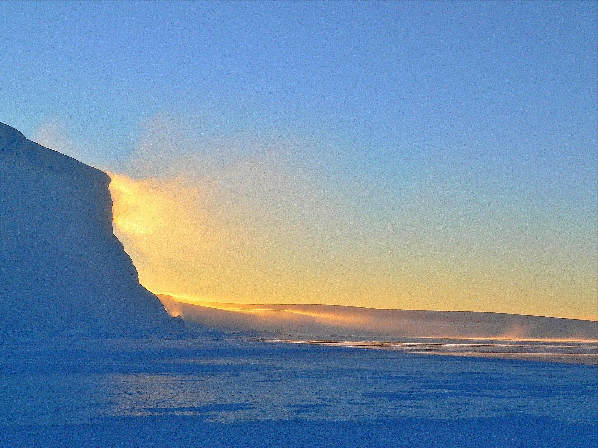 Ozone depletion increases Antarctic snowfall, partially mitigates ice sheet loss