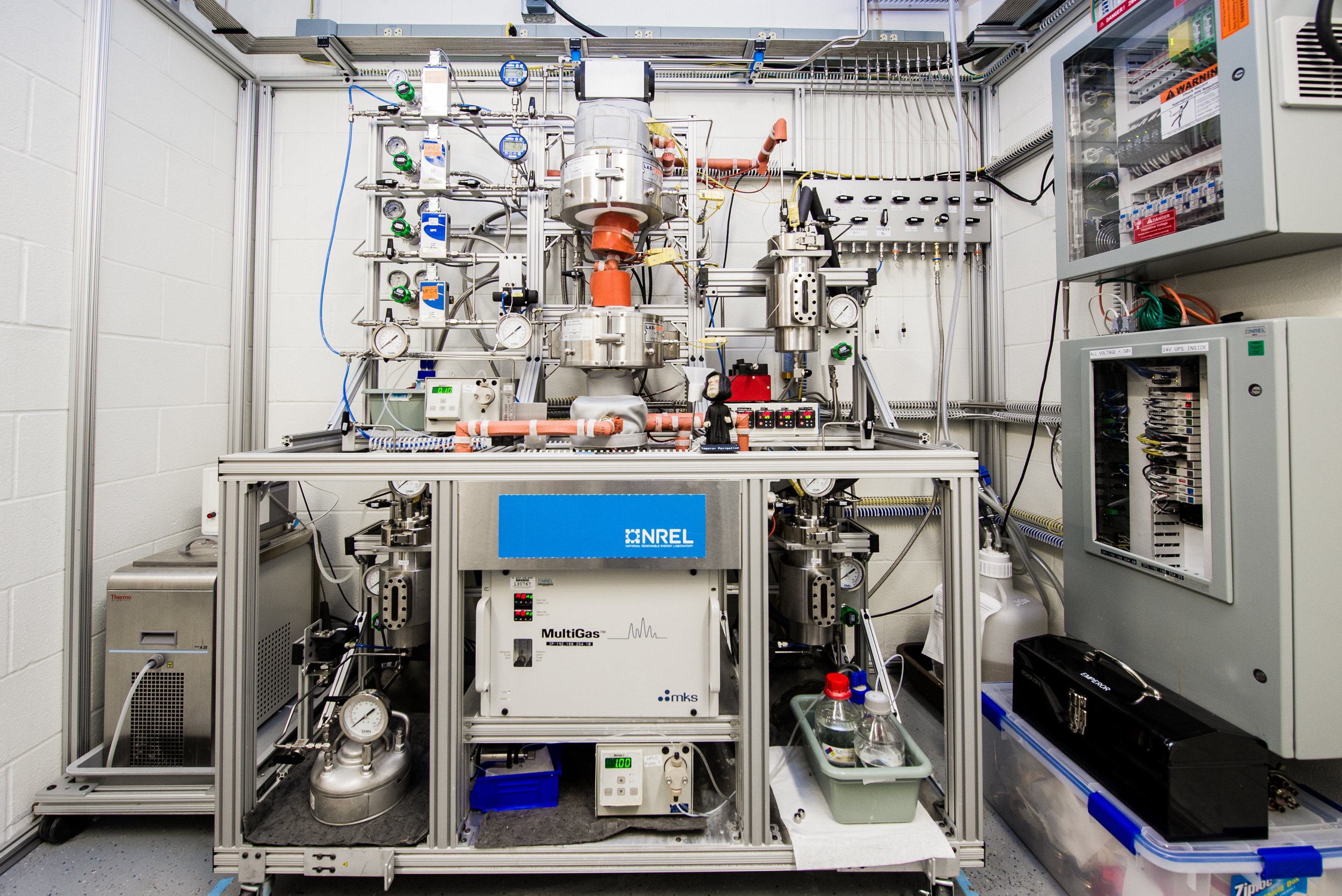 Bio Based Compound Offers A Greener Carbon Fiber Alternative Domestic Electrical Wiring Is Basically The Catalytic Reactor Shown Here For Converting Chemical Intermediates Into Acrylonitrile Work Part Of Renewable Consortium