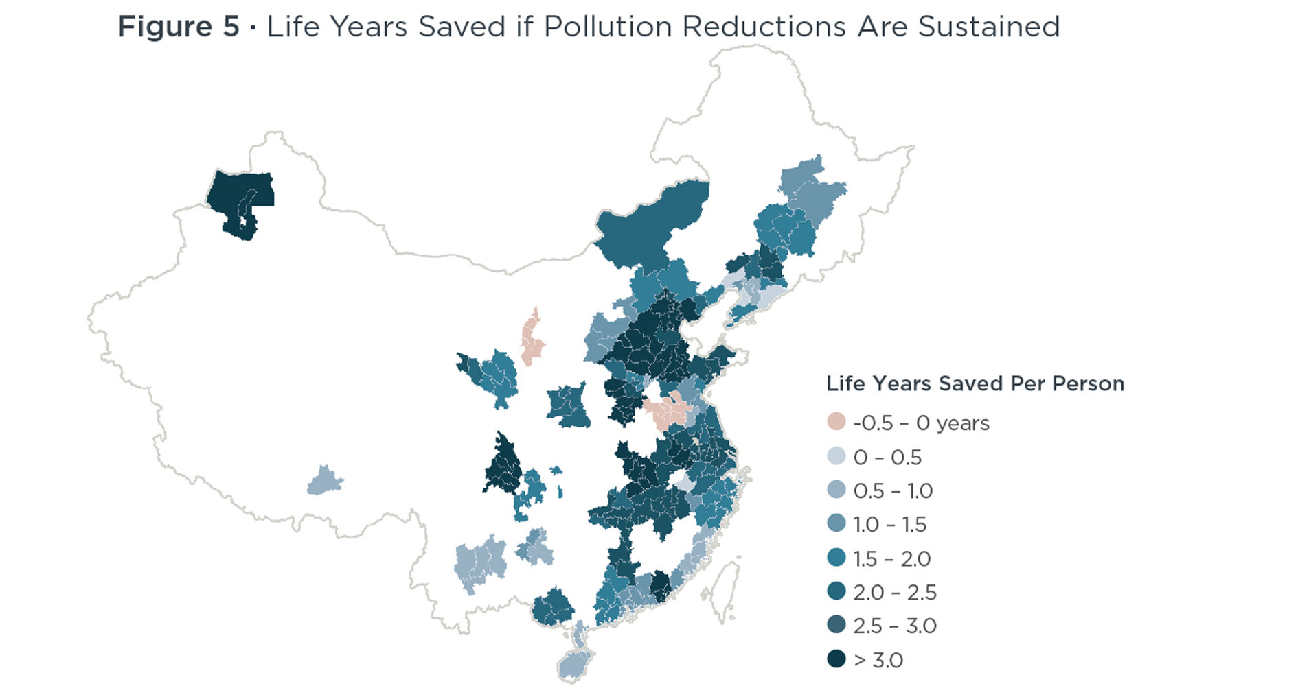 Show Map Of China.China S War Against Pollution Shows Promising Results Study Finds