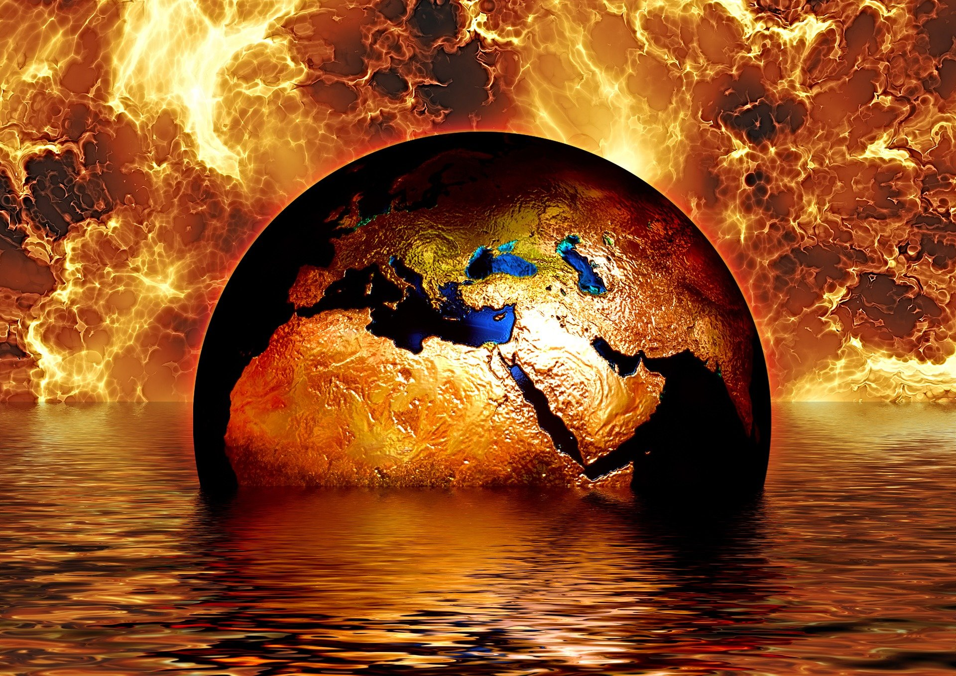 climate change earth in water