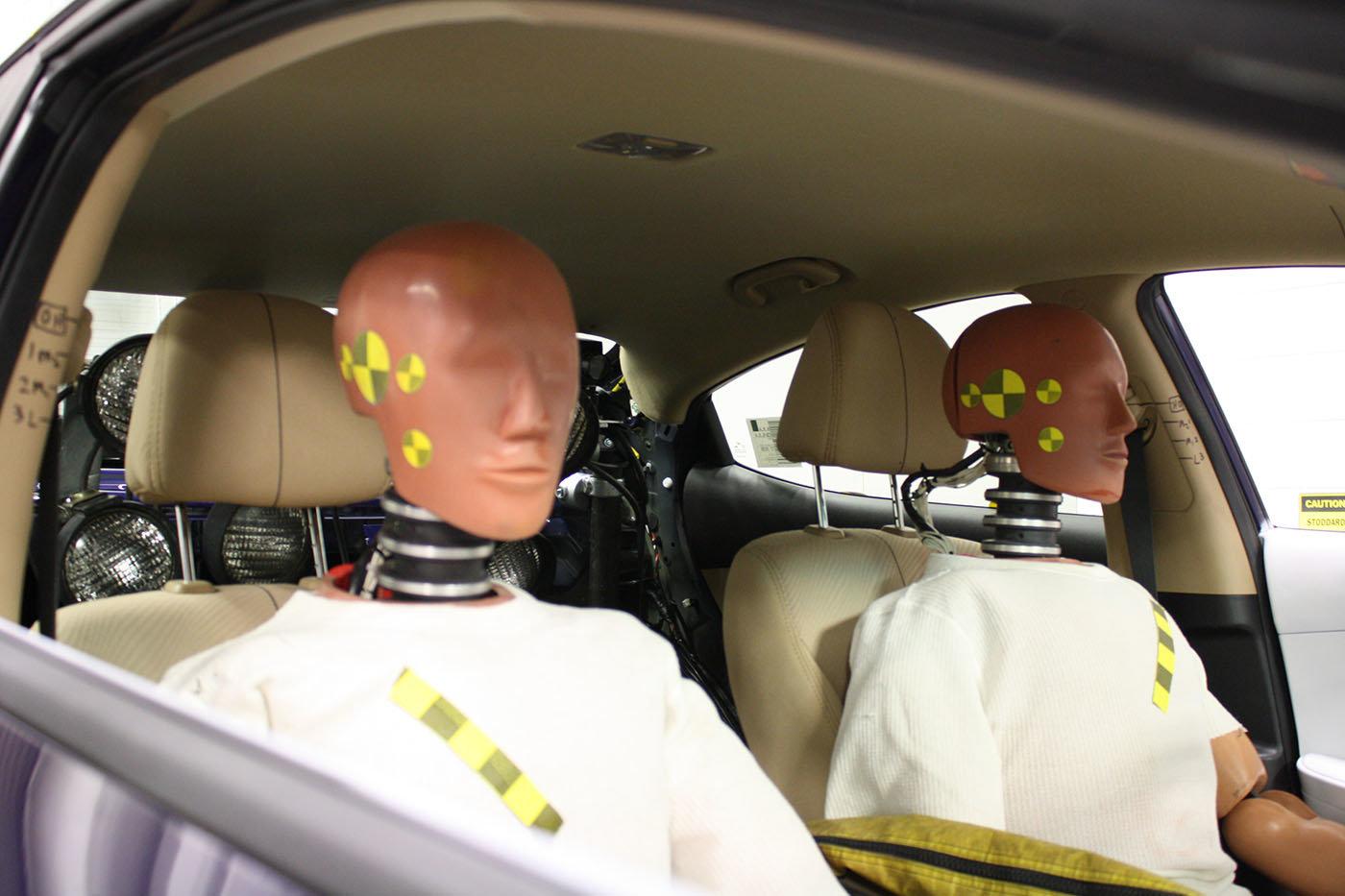 Crash test dummies based on older bodies could reduce road ...