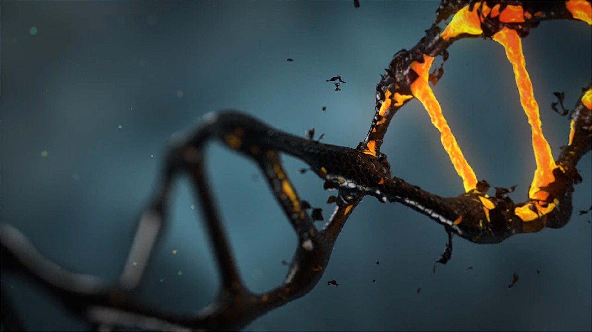 Electrical wire properties of DNA linked to cancer