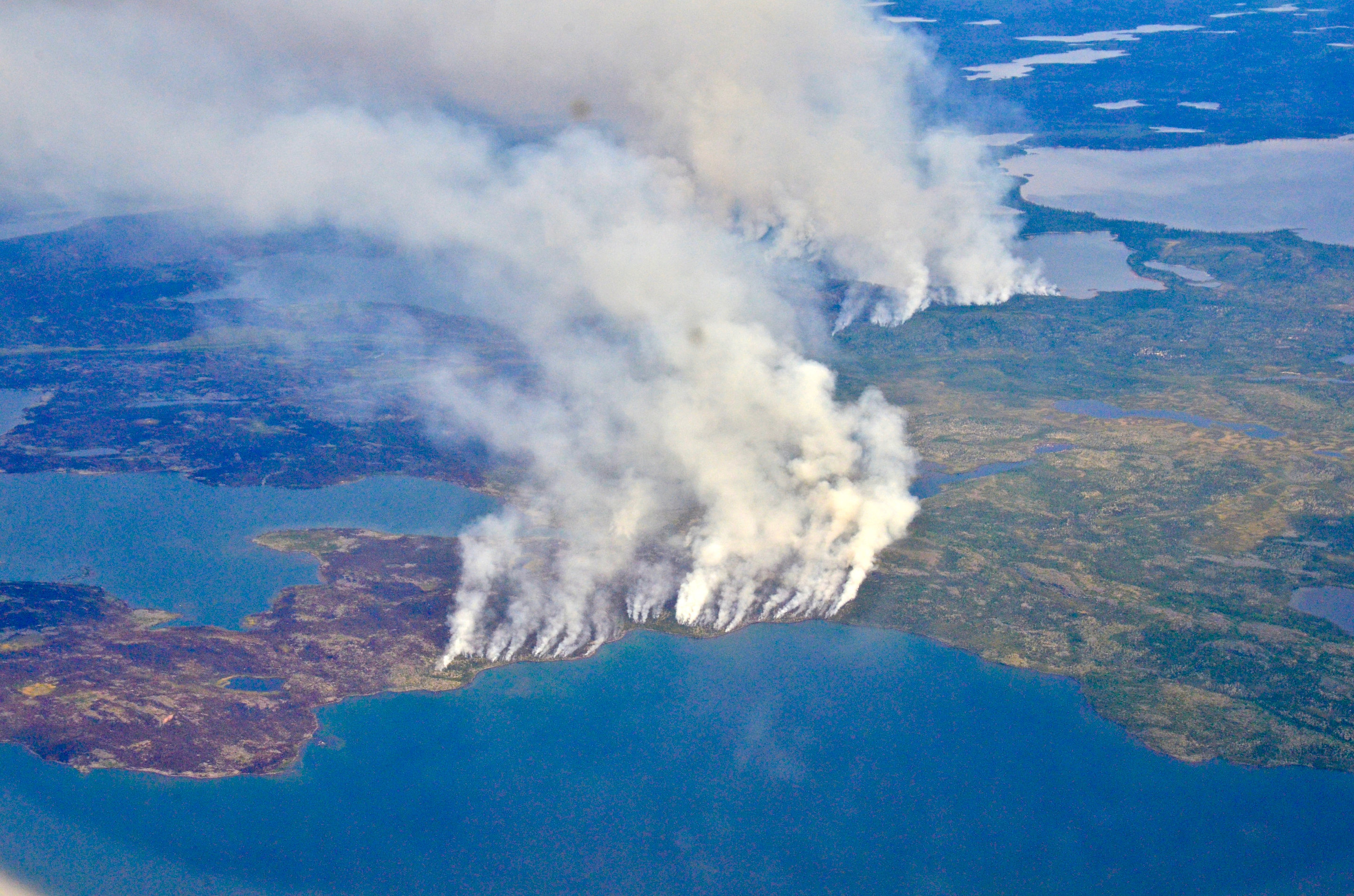 Fires, floods and satellite views: Modeling the Boreal forest\'s future