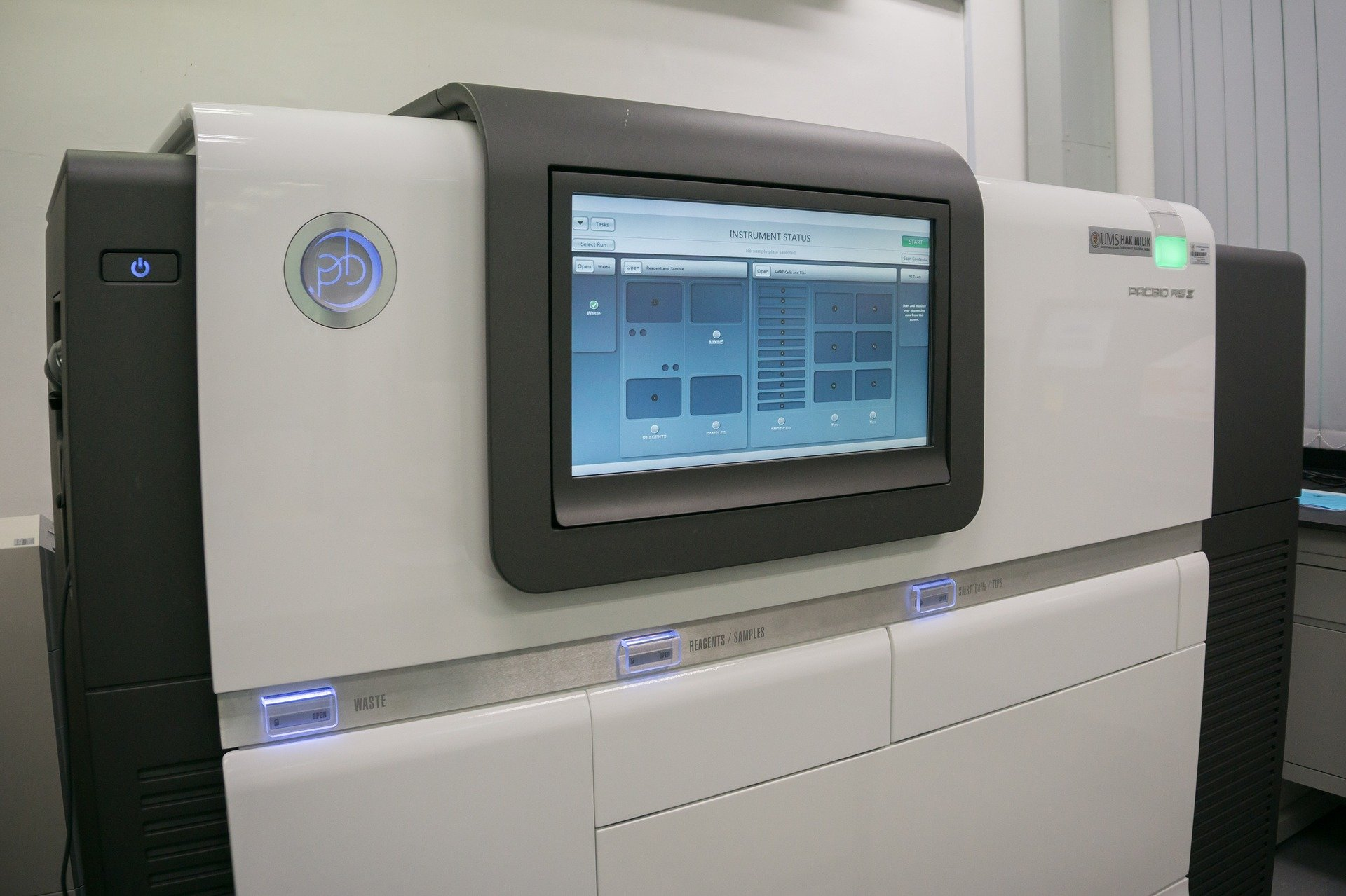 New genetic testing technology enhances precision of ... Next Generation Sequencing Machine
