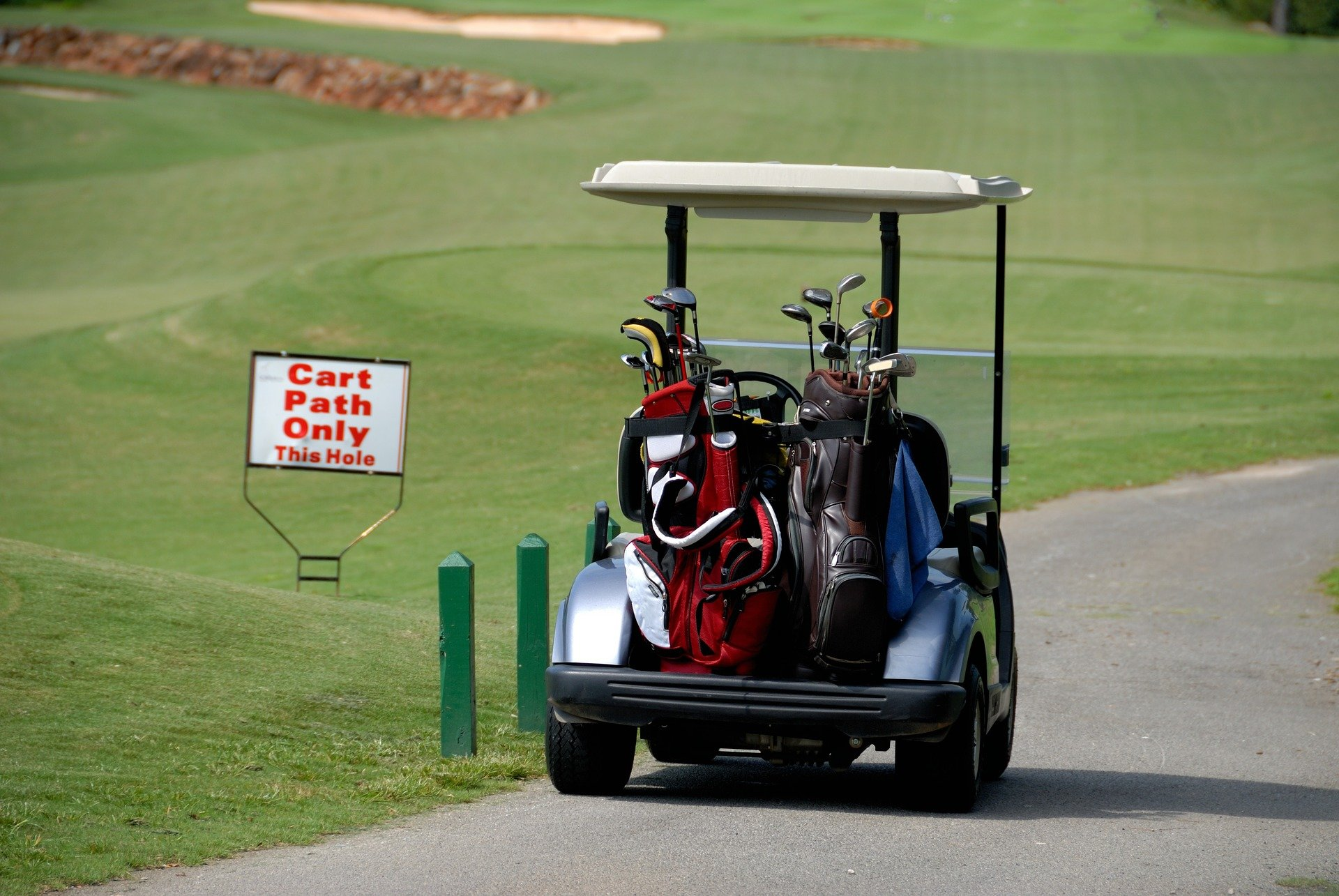 Get off the golf cart if you have knee osteoarthritis for Narrow golf cart