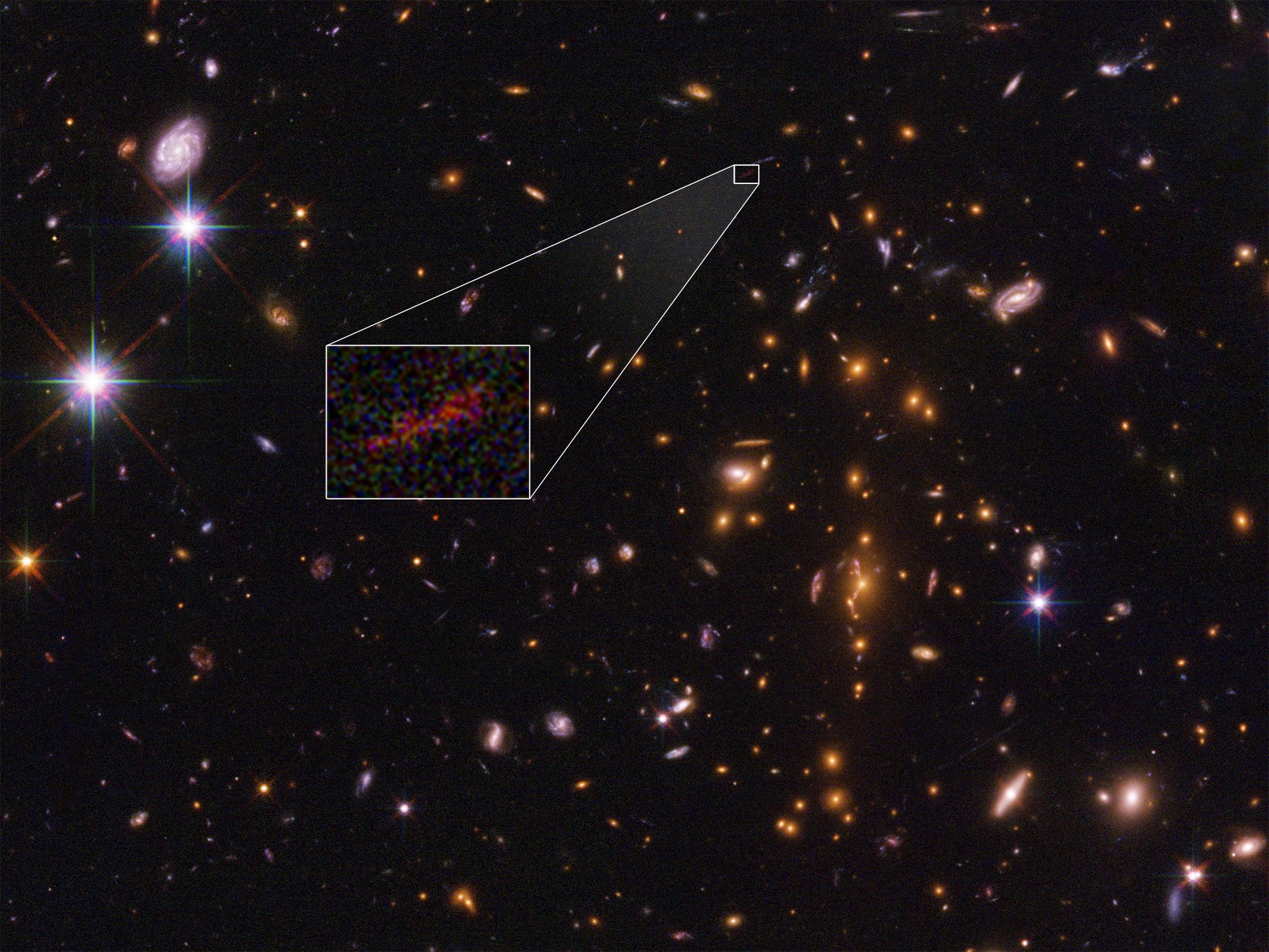Researchers capture first 'image' of a dark matter web that connects galaxies
