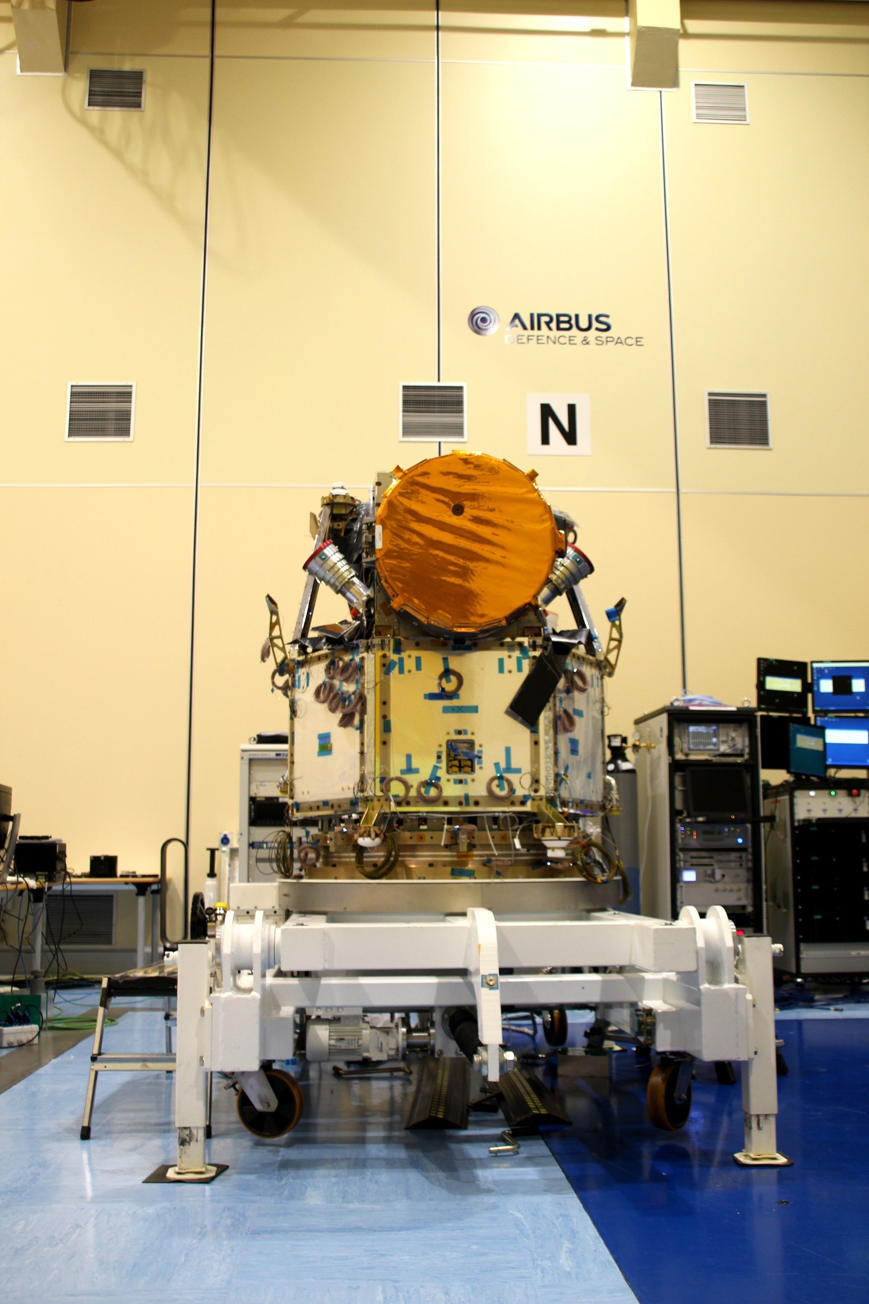 Image The Integrated Cheops Satellite