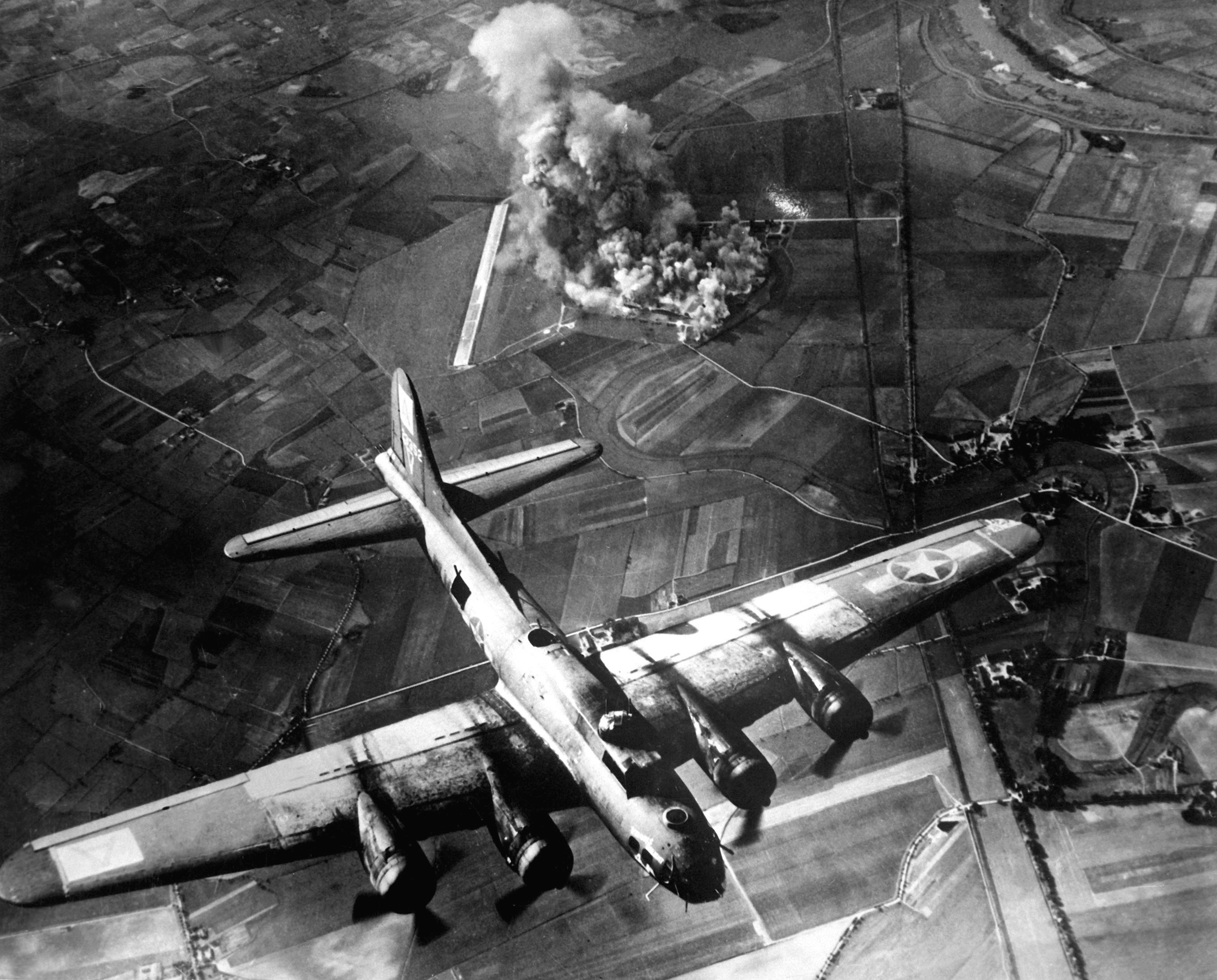 impact of wwii bombing raids felt at edge of space