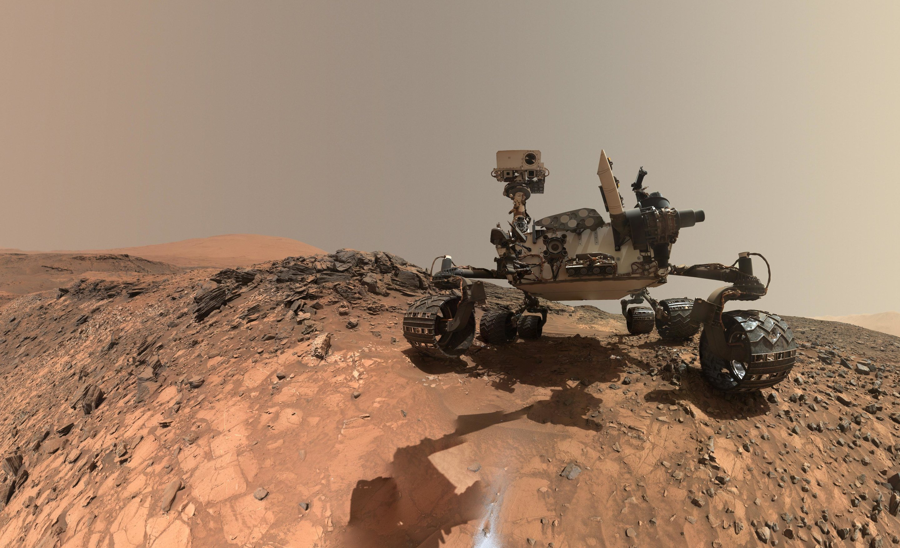 nasa finds ancient organic material mysterious methane on mars