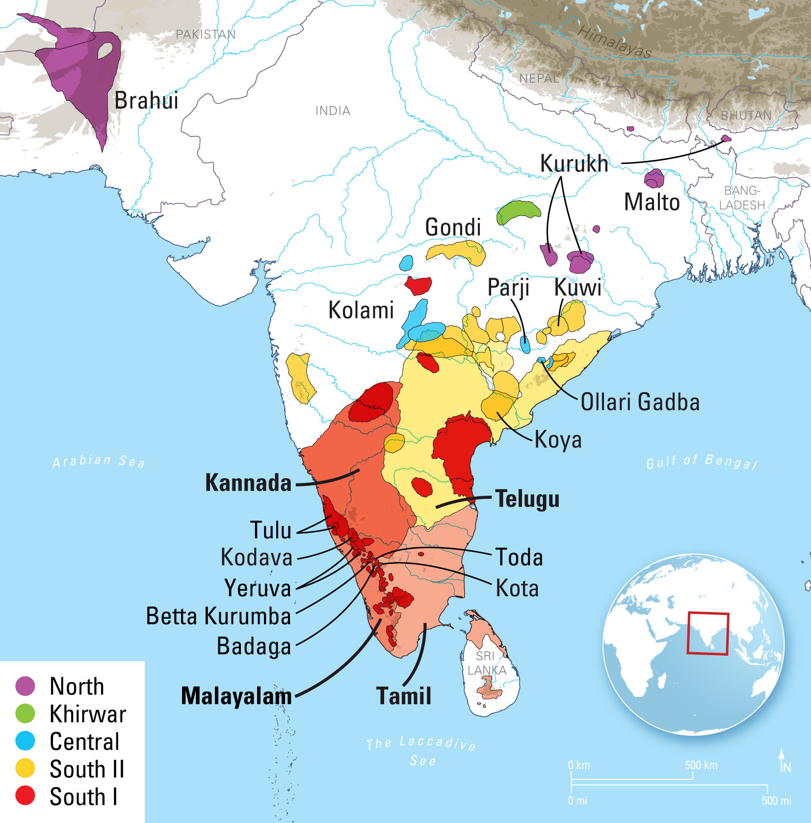 New Linguistic Analysis Finds Dravidian Language Family Is