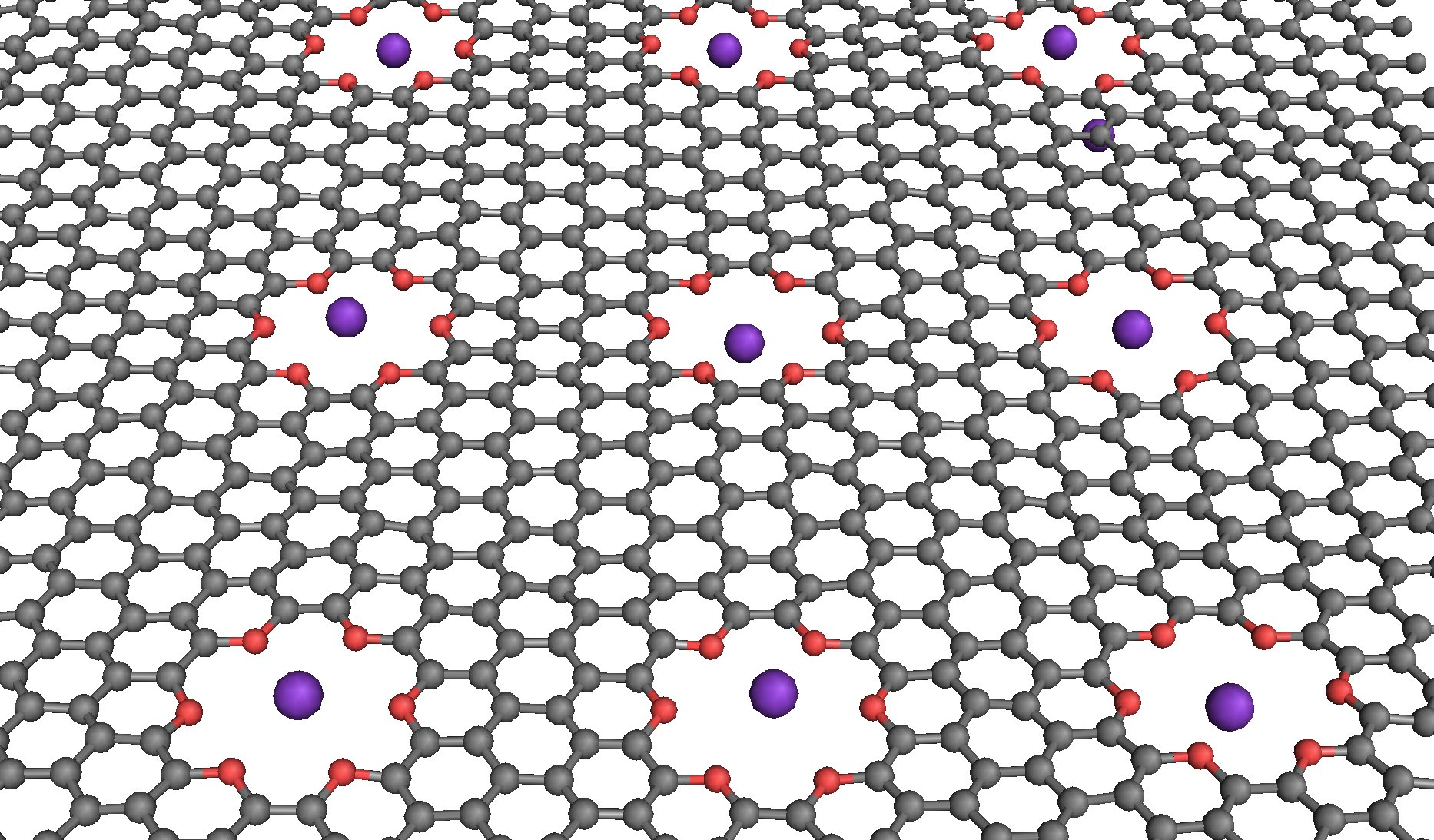 Researchers Simulate Simple Logic For Nanofluidic Computing Parallel Circuit Simplest Physics Ever Nist Simulated Computer Operations In A Saline Solution With Graphene Membrane Grey Containing Oxygen Lined Pores Red That Can Trap