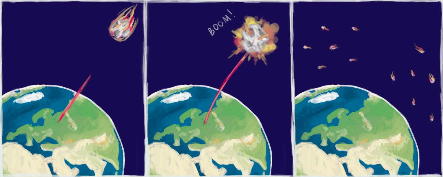 how to make nuclear explosion on earth in photoshop