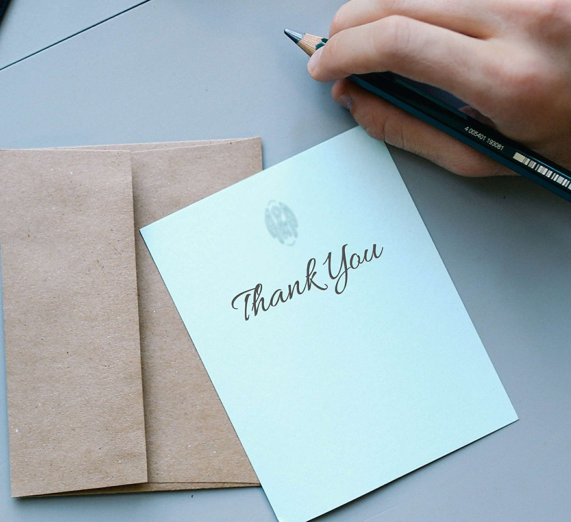 writing a thank you note is more powerful than we realize study shows