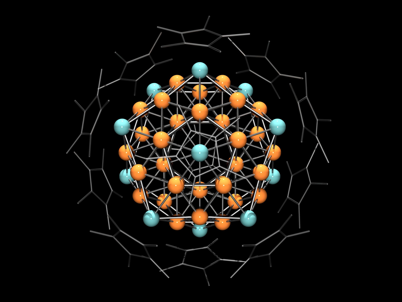 Heterometallic Copper Aluminum Super Atom Discovered