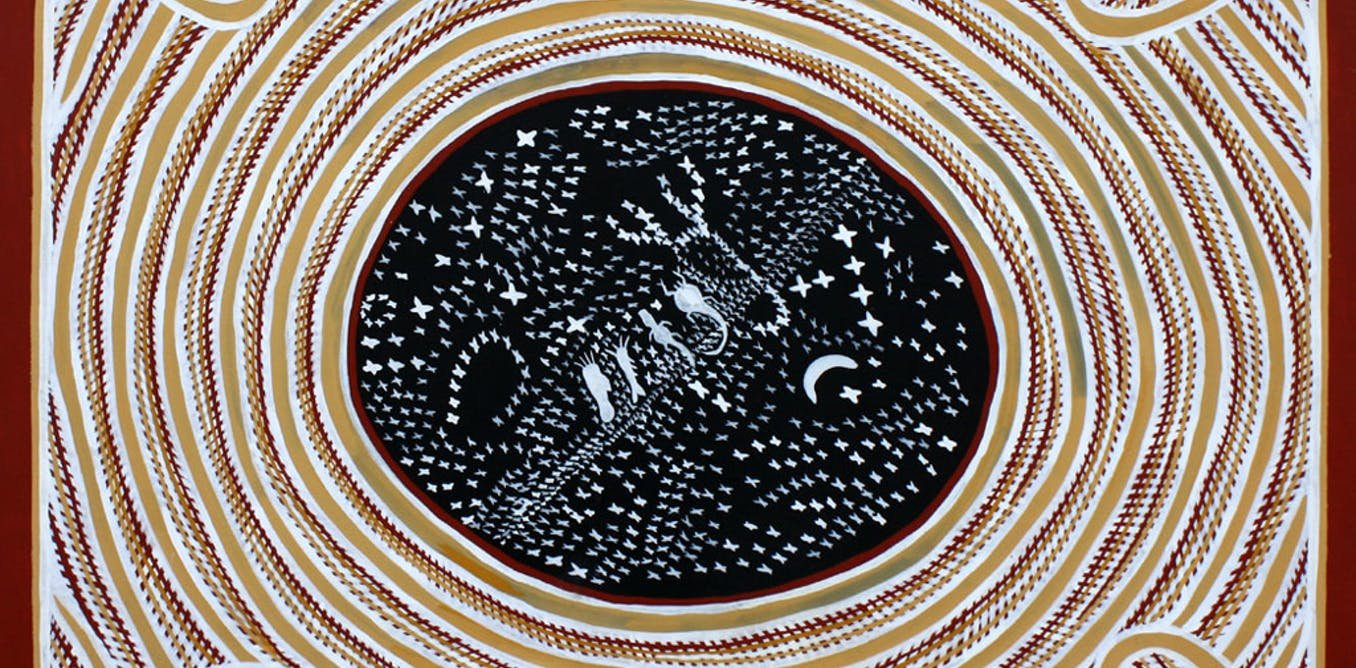 The Stories Behind Aboriginal Star Names Now Recognised By The - Star map now