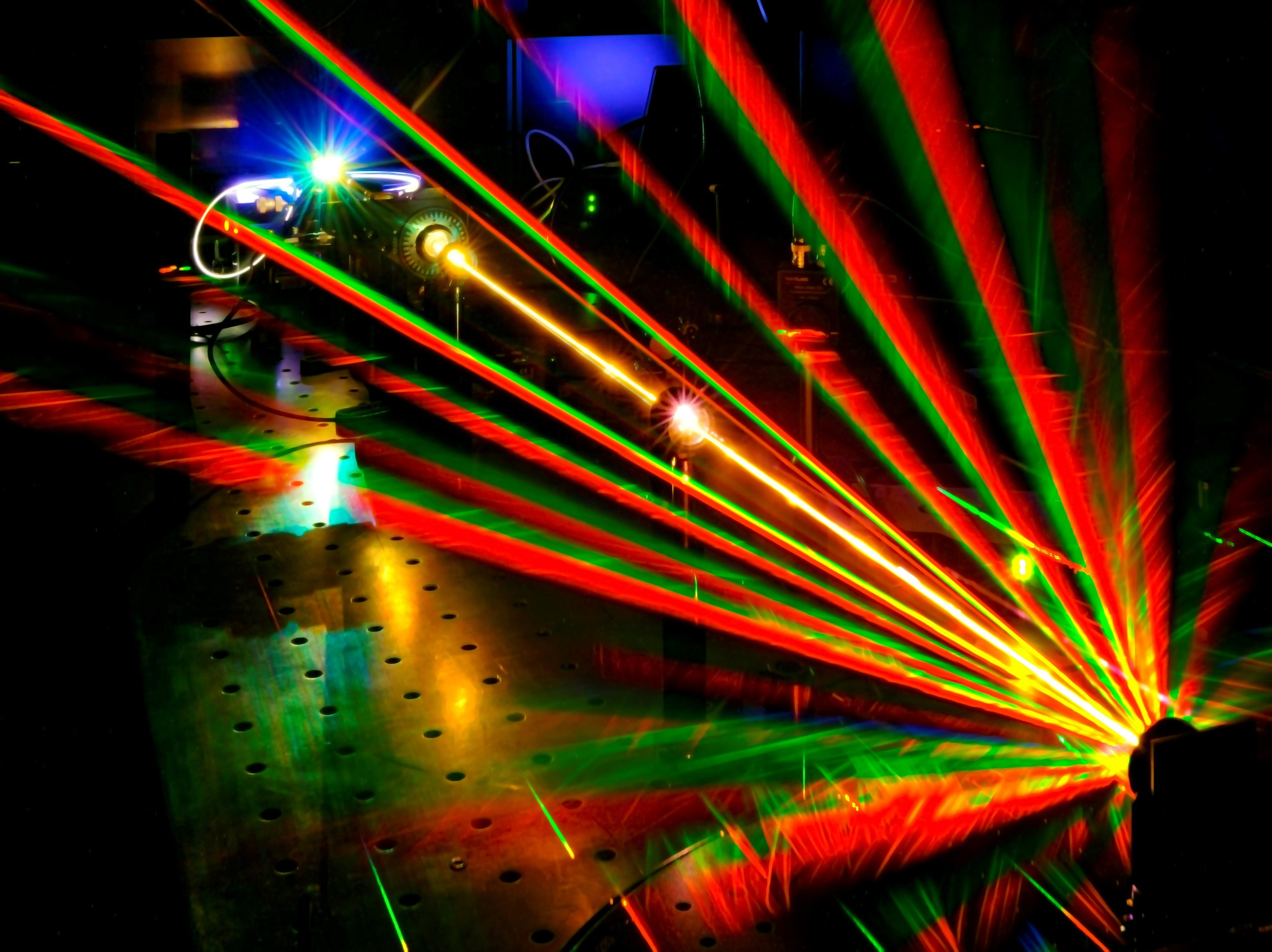 Twisting Laser Light Offers The Chance To Probe The Nano Scale Photo