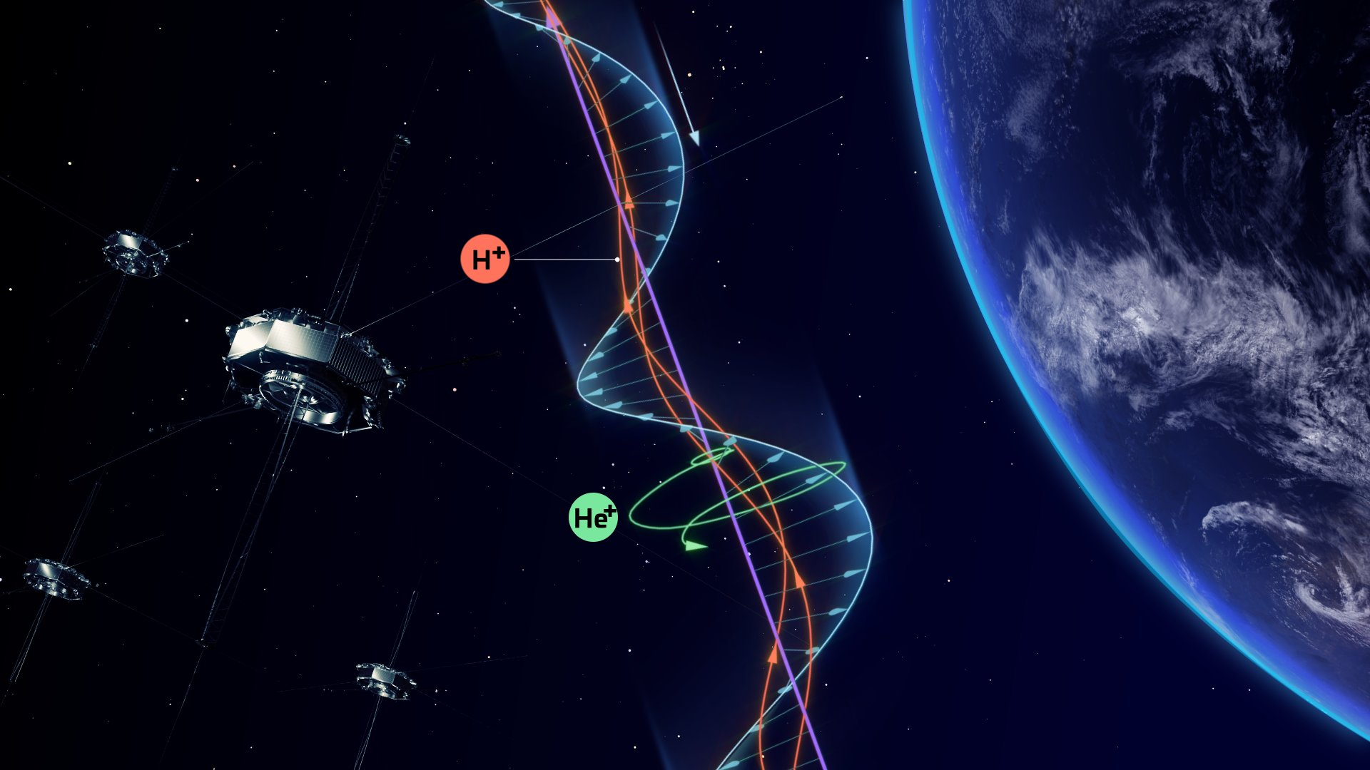 Wave-particle interactions allow collision-free energy transfer in space plasma