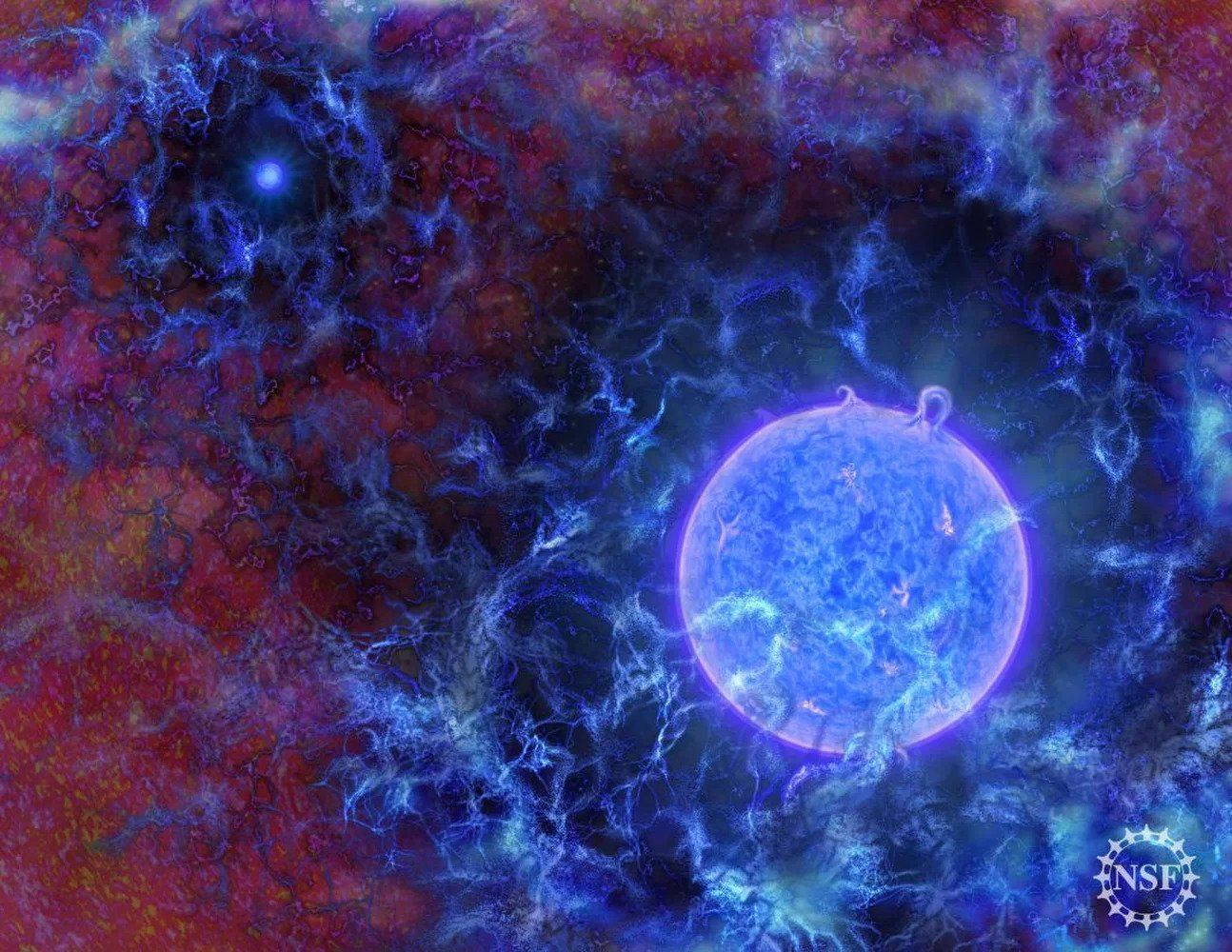 We may soon be able to see the first supergiant stars in the universe
