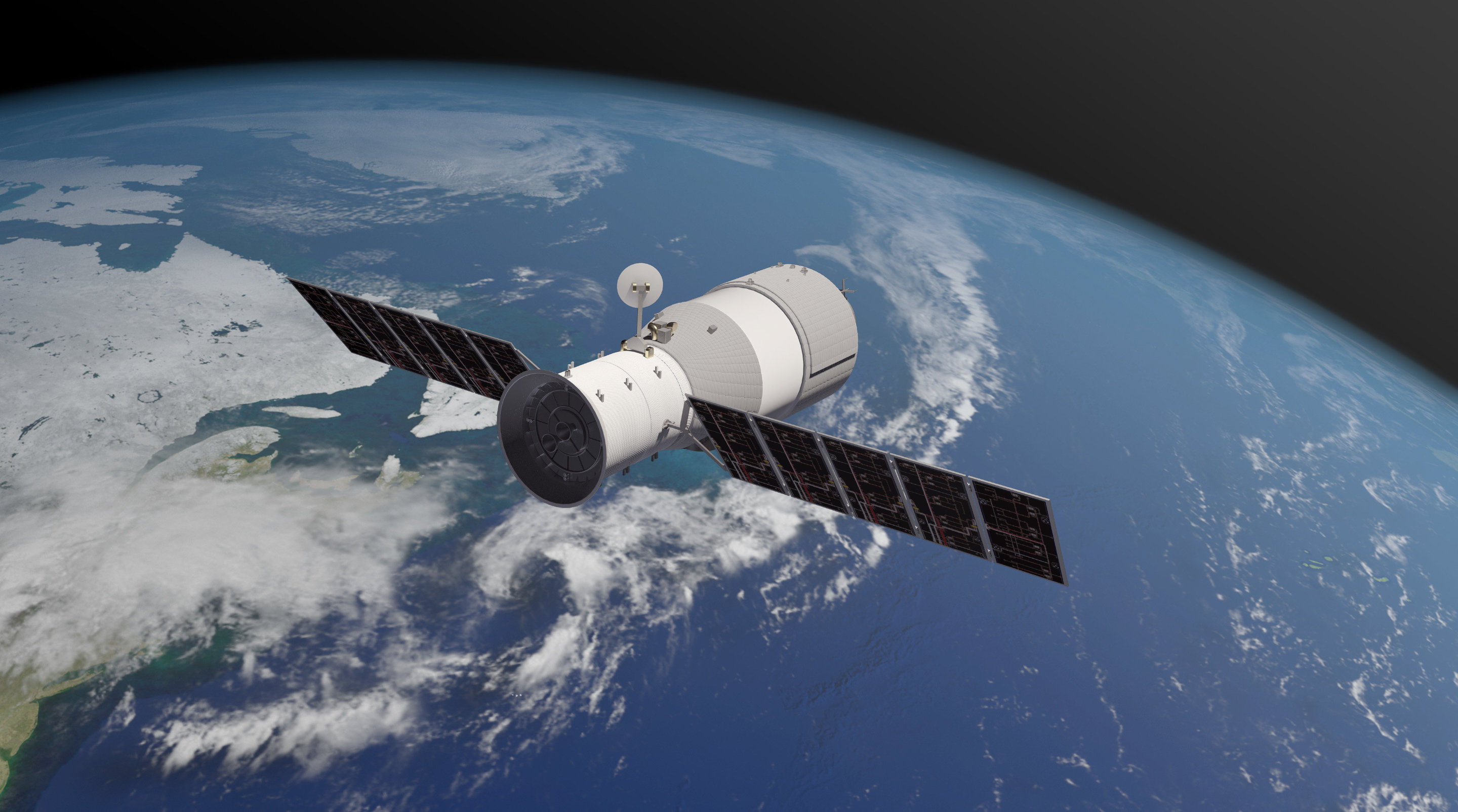 with china s space station about to crash land who s responsible if