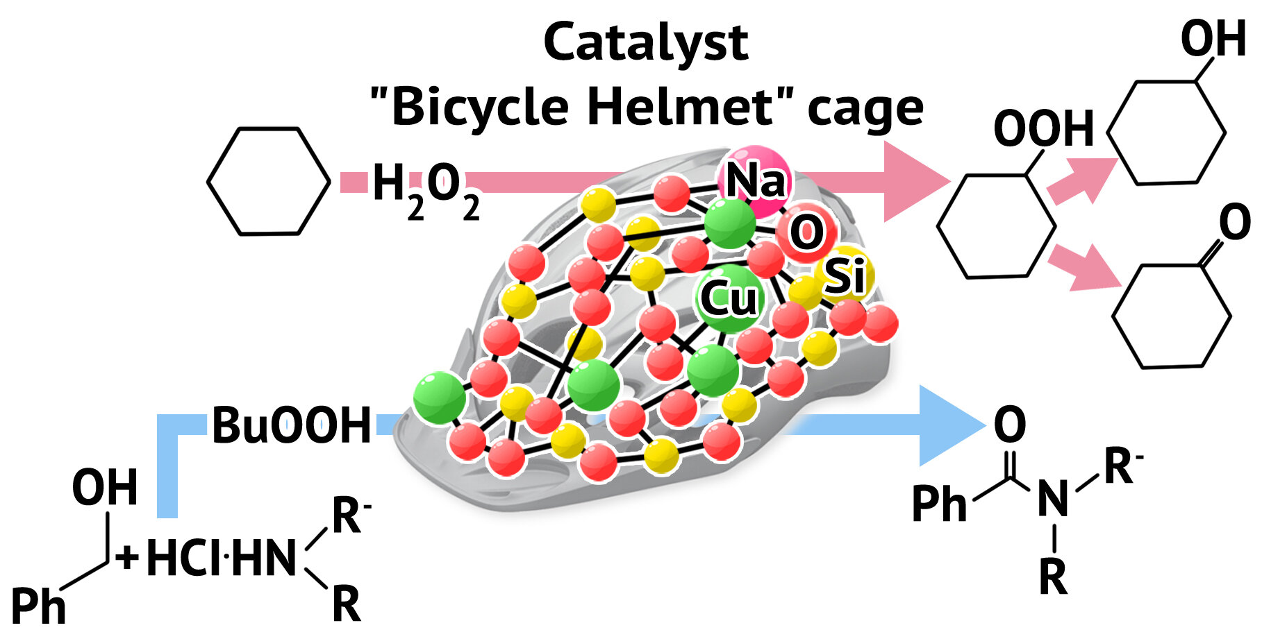 Chemist develops a new catalyst for oxidation and amidation