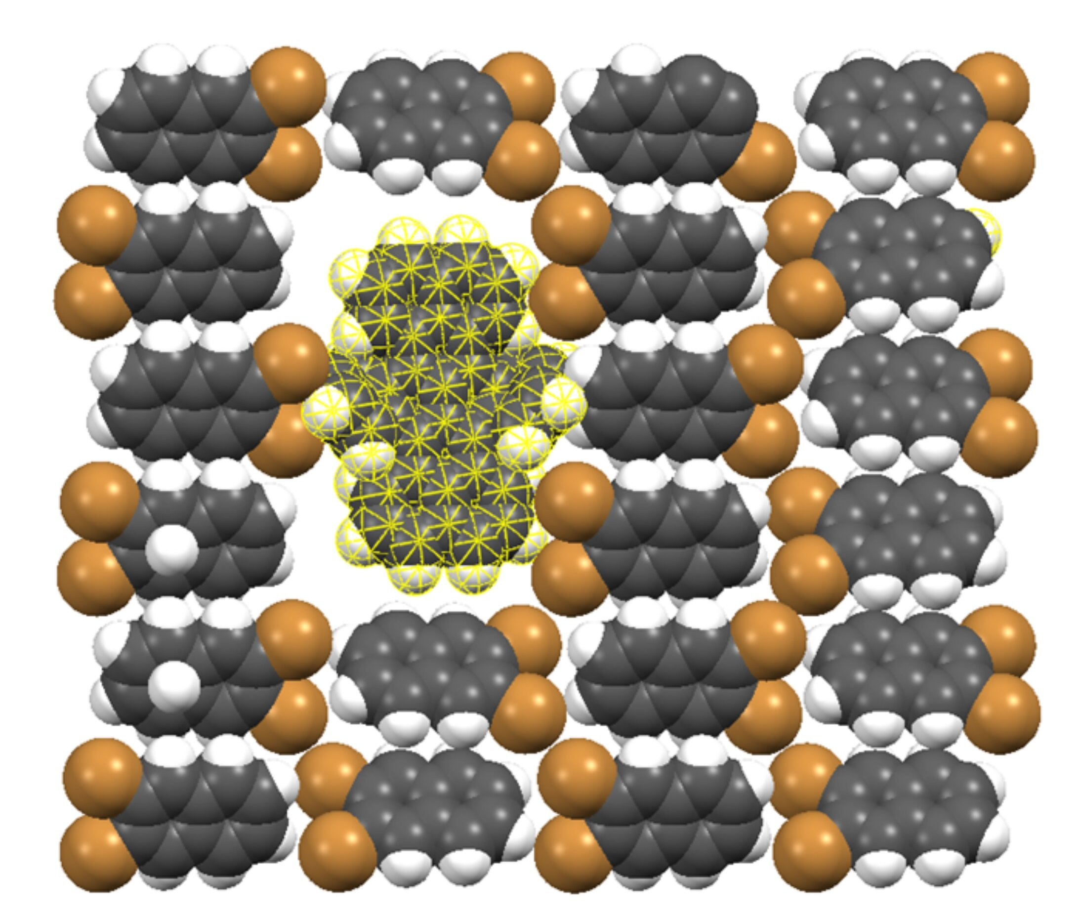 Single molecules show promise to optically detect single electrons