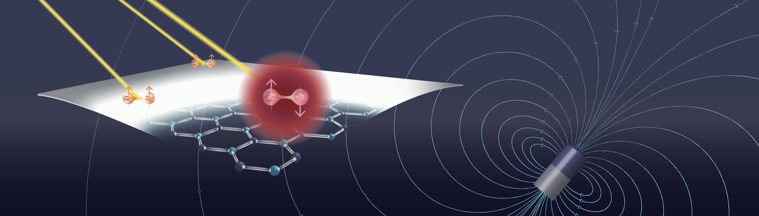 Engineers develop room temperature, two-dimensional platform for quantum technology