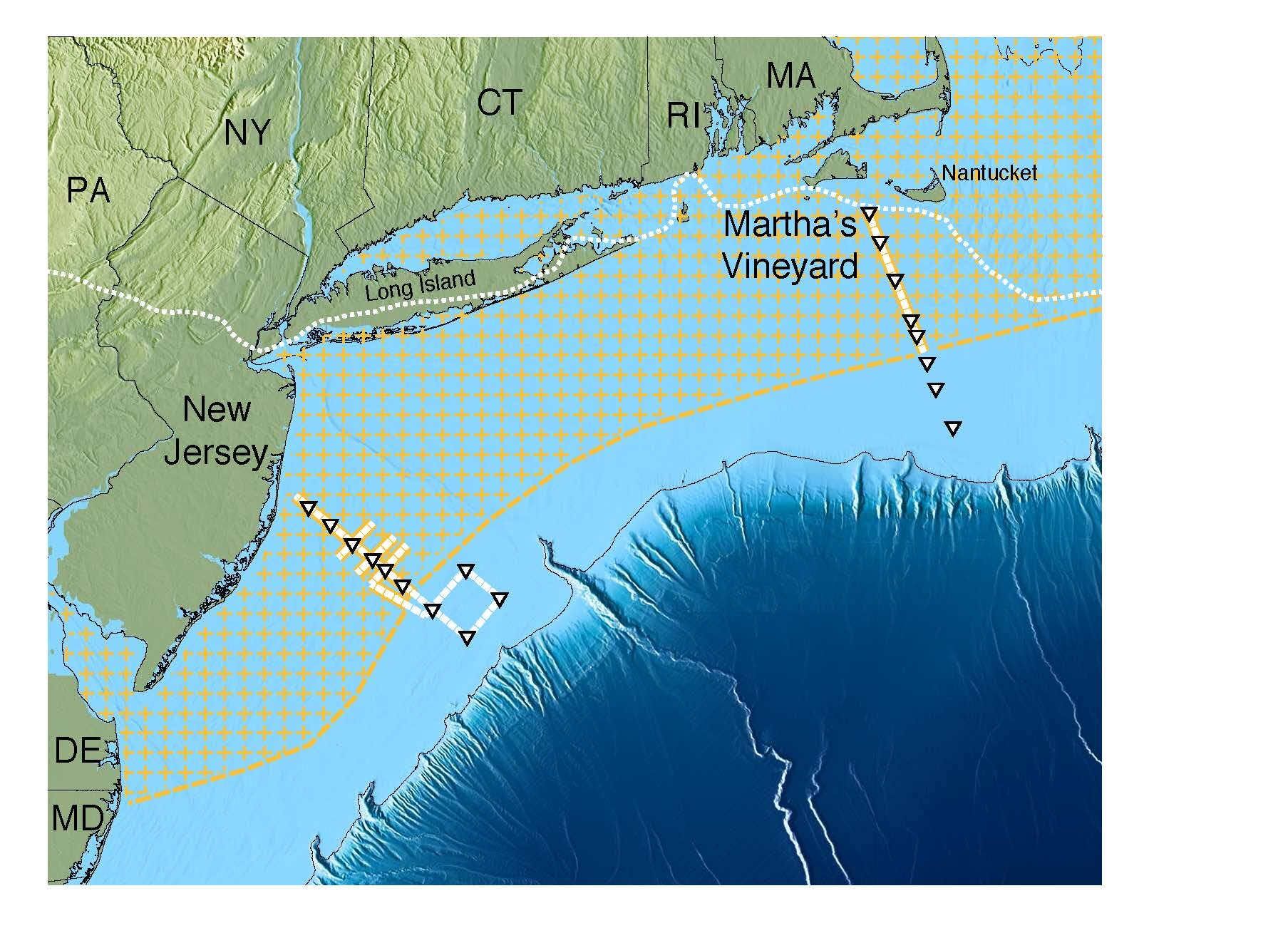 Scientists Map Giant Underwater Freshwater Aquifer Off The - Giant-us-map