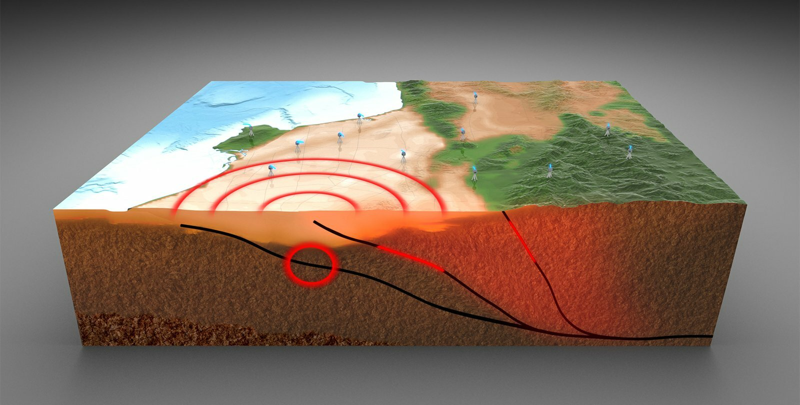 Fast, simple new assessment of earthquake hazard