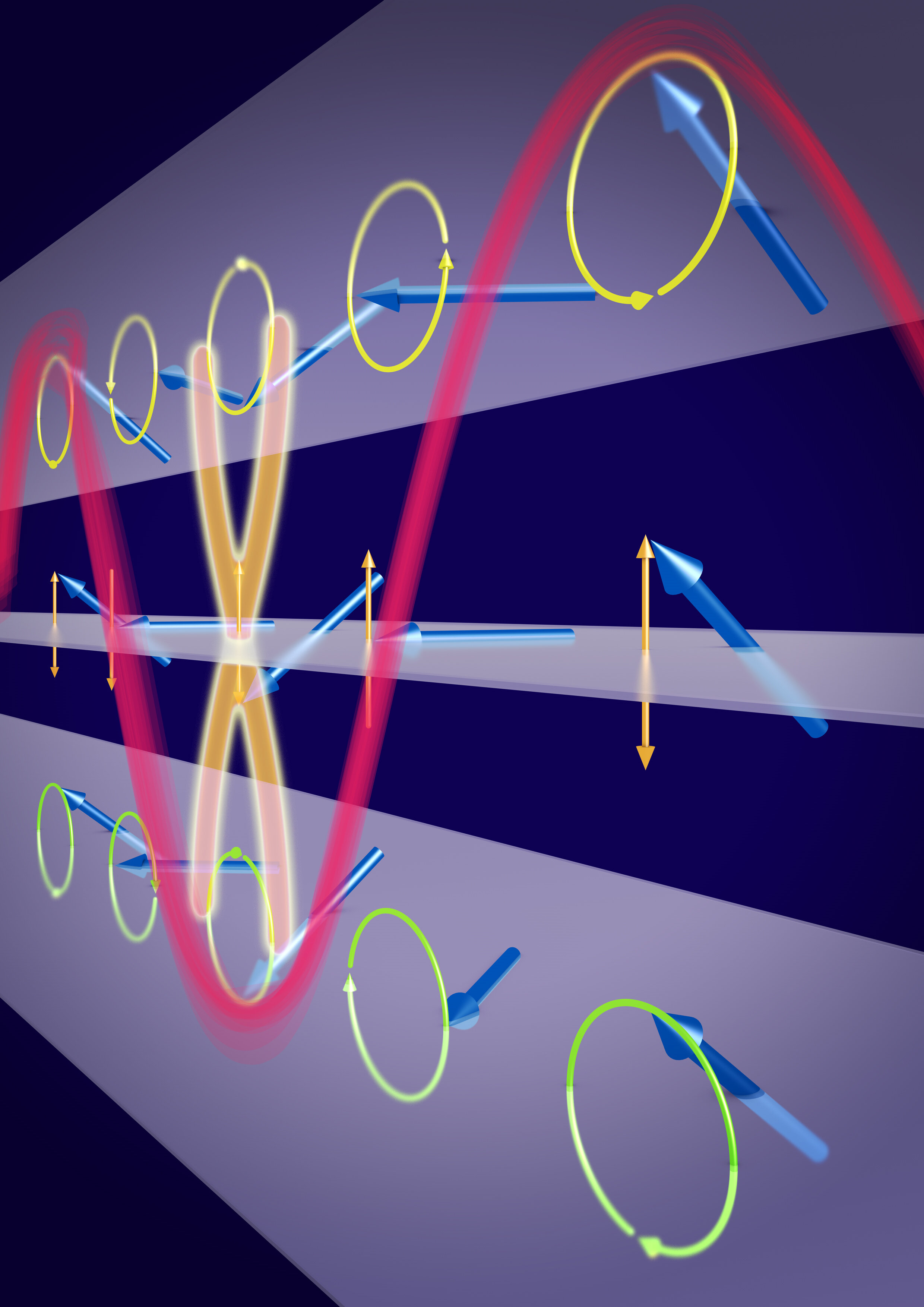 Researchers generate ultra-short spin waves in an astoundingly simple material